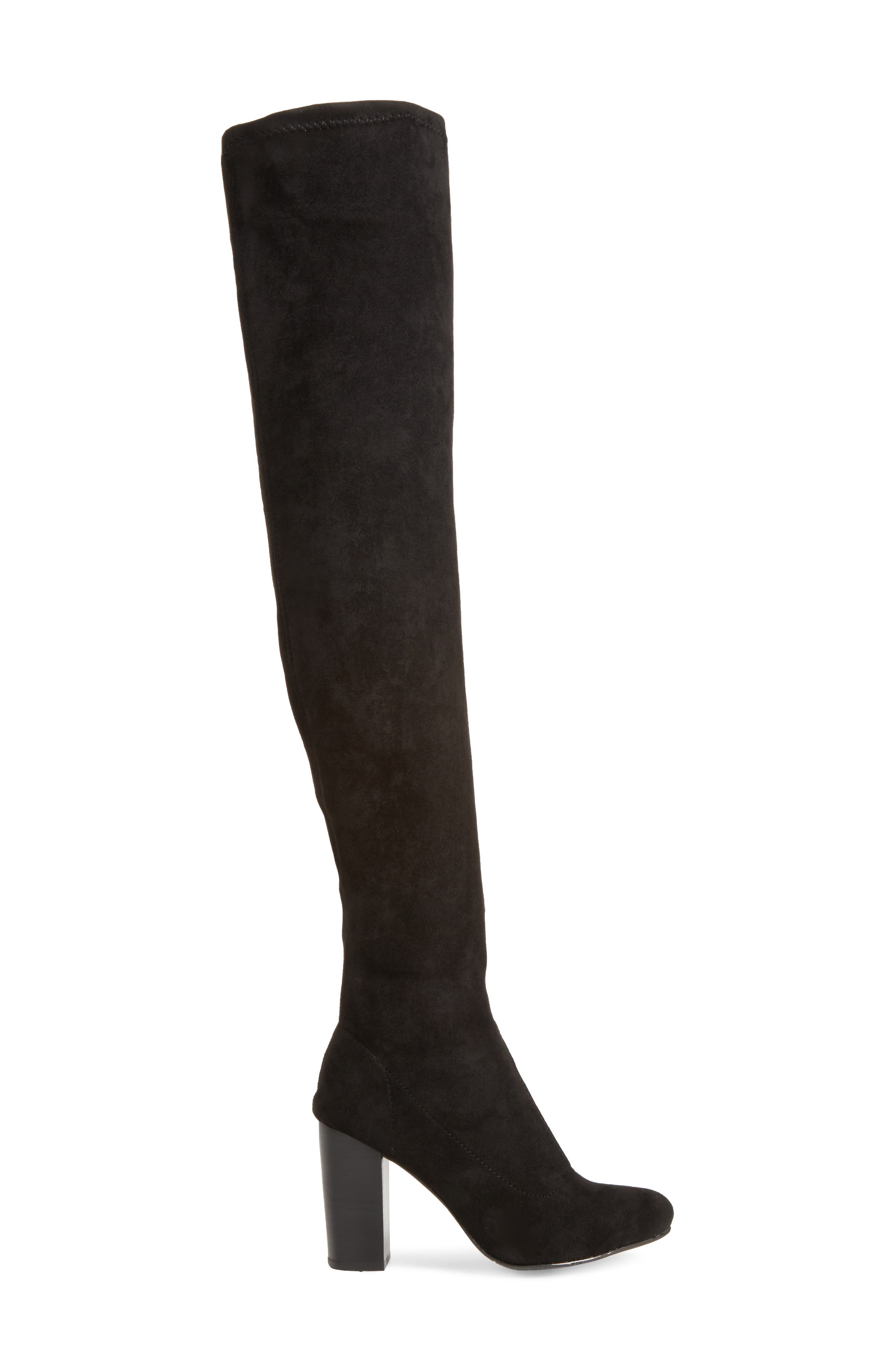 Christa Thigh High Boot,                             Alternate thumbnail 3, color,                             001