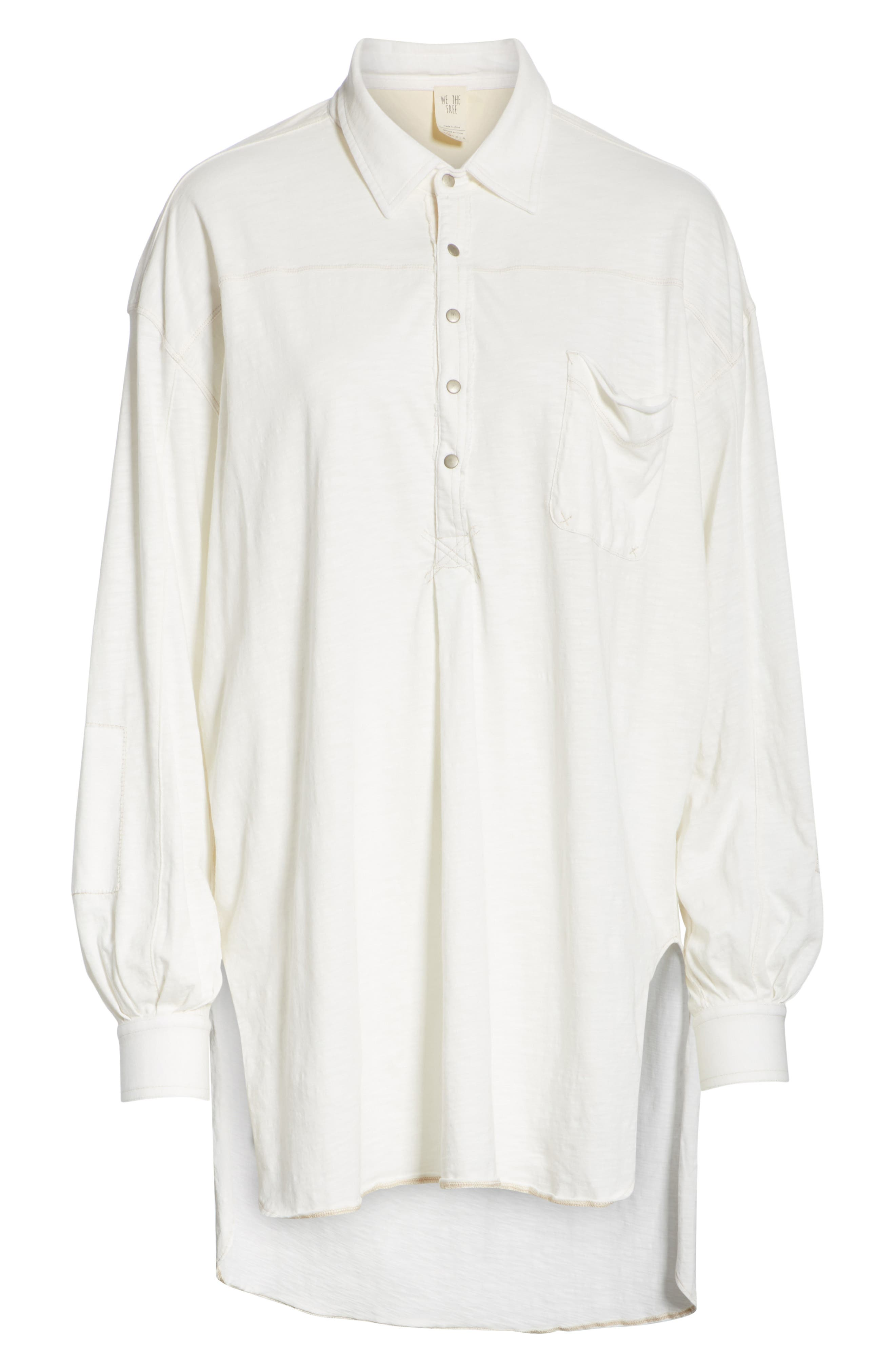 We the Free by Free People Love This Cotton Henley Top,                             Alternate thumbnail 6, color,                             103