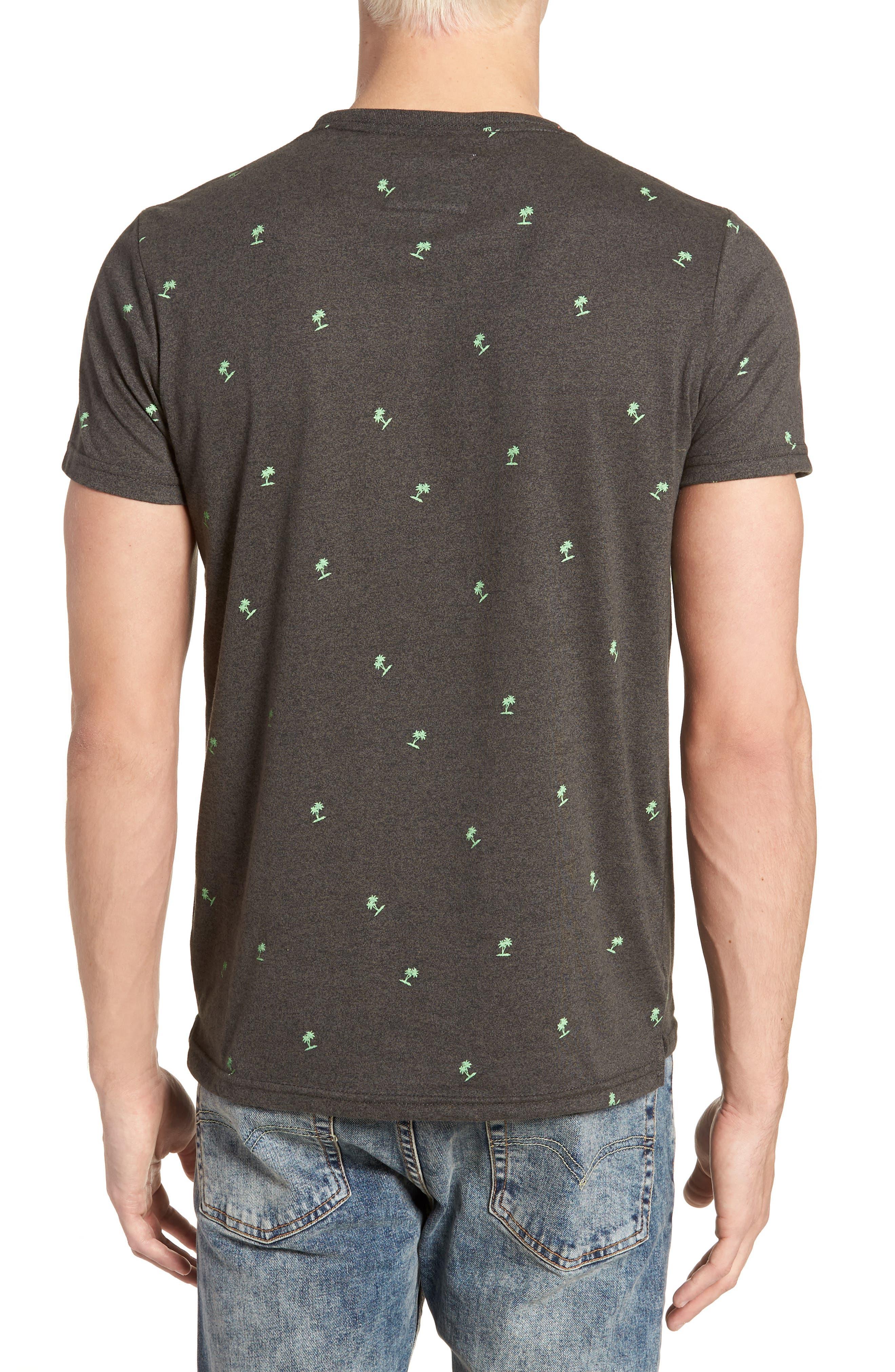 Allover Print Lite Pocket T-Shirt,                             Alternate thumbnail 2, color,                             020