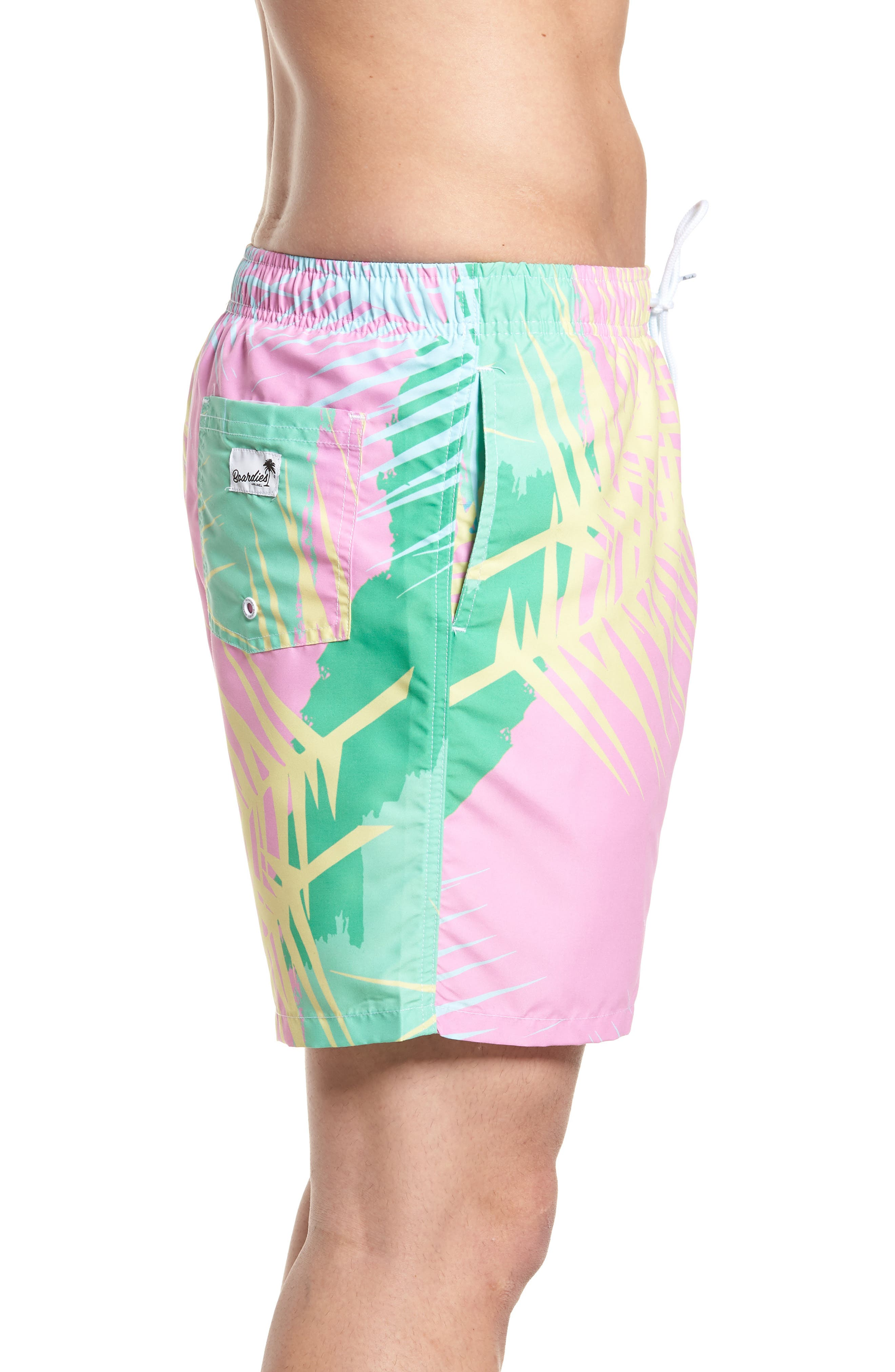 Tropicano Swim Trunks,                             Alternate thumbnail 3, color,                             650