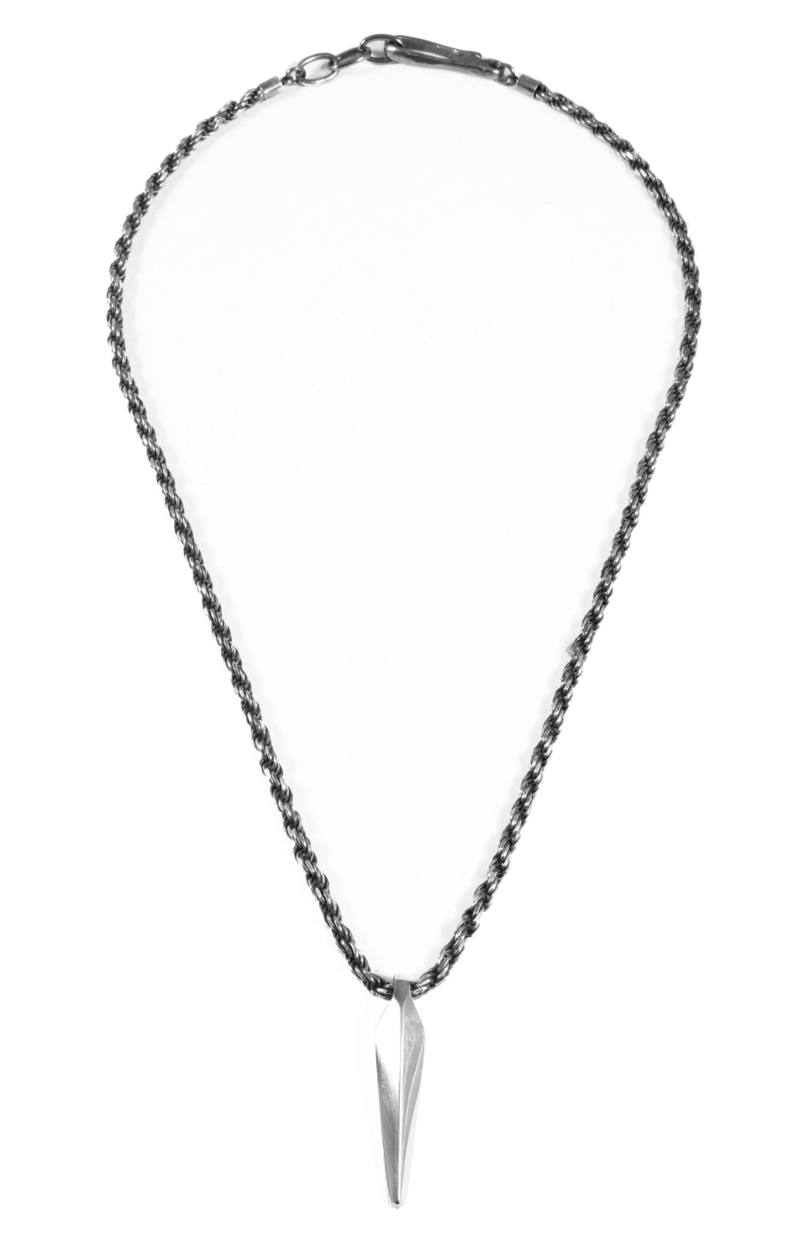 Fortitude Pendant Necklace,                         Main,                         color, 040