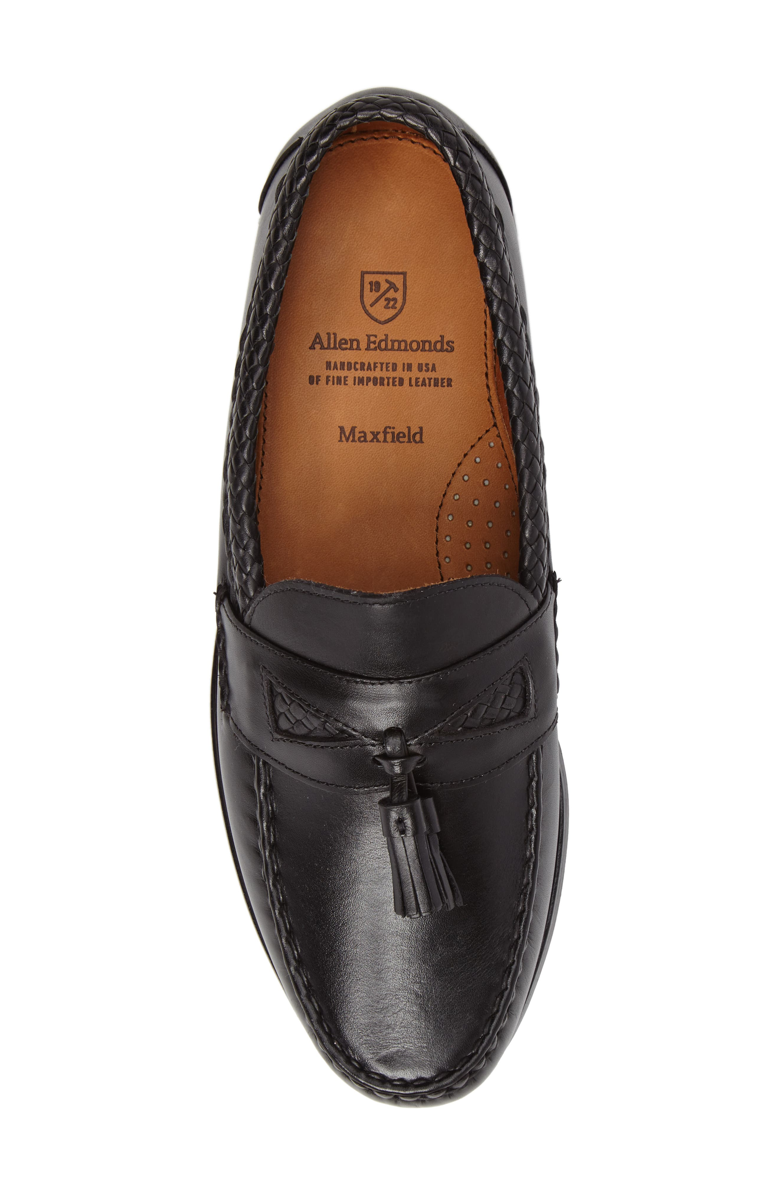 'Maxfield' Loafer,                             Alternate thumbnail 5, color,                             BLACK