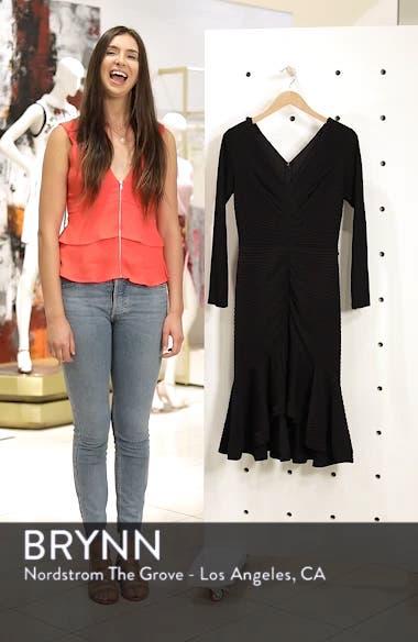 Pintuck High/Low Midi Dress, sales video thumbnail