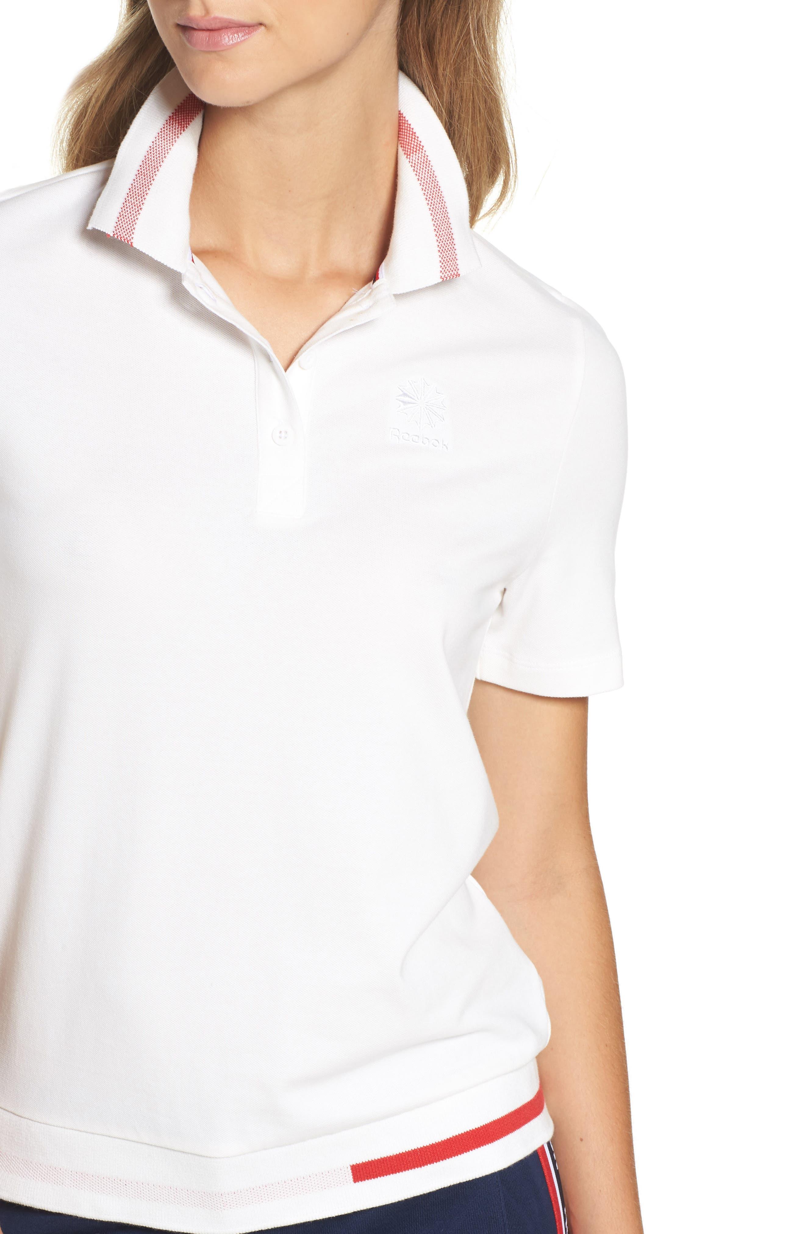 Piqué Polo Shirt,                             Alternate thumbnail 4, color,                             100