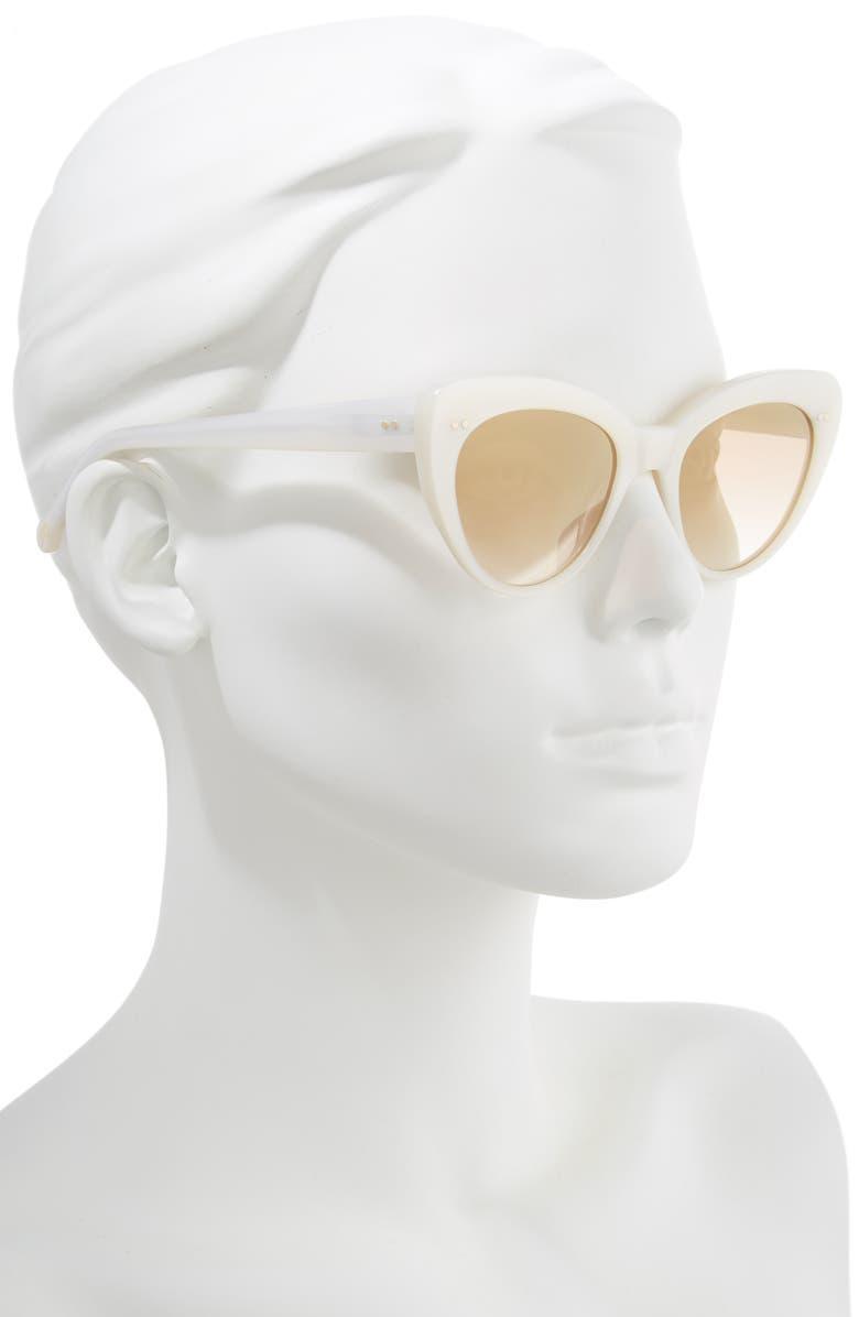 7330f079446 Shop Colors In Optics Lolita 51Mm Gradient Lens Cat Eye Sunglasses ...