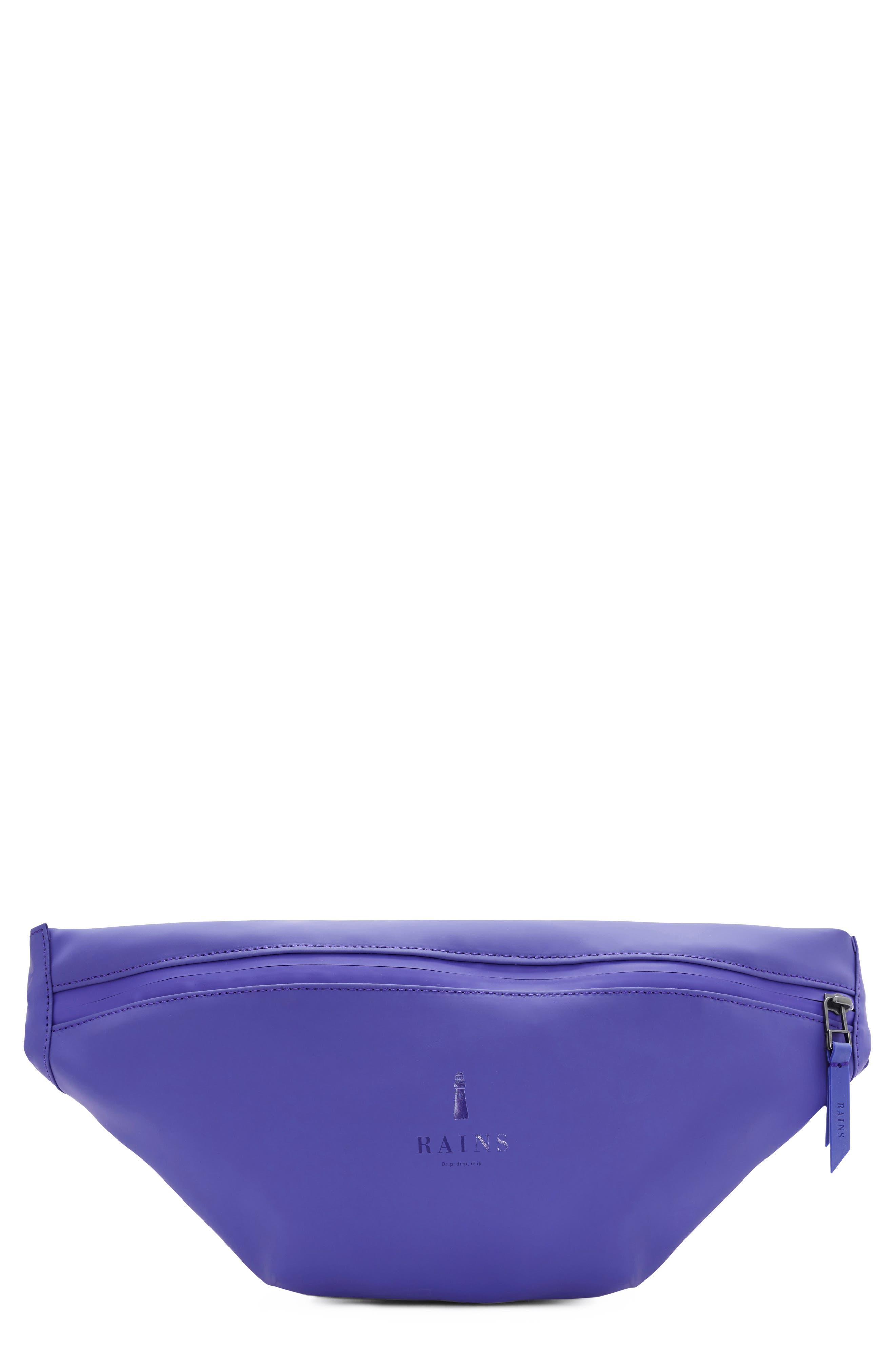 RAINS Belt Bag, Main, color, LILAC