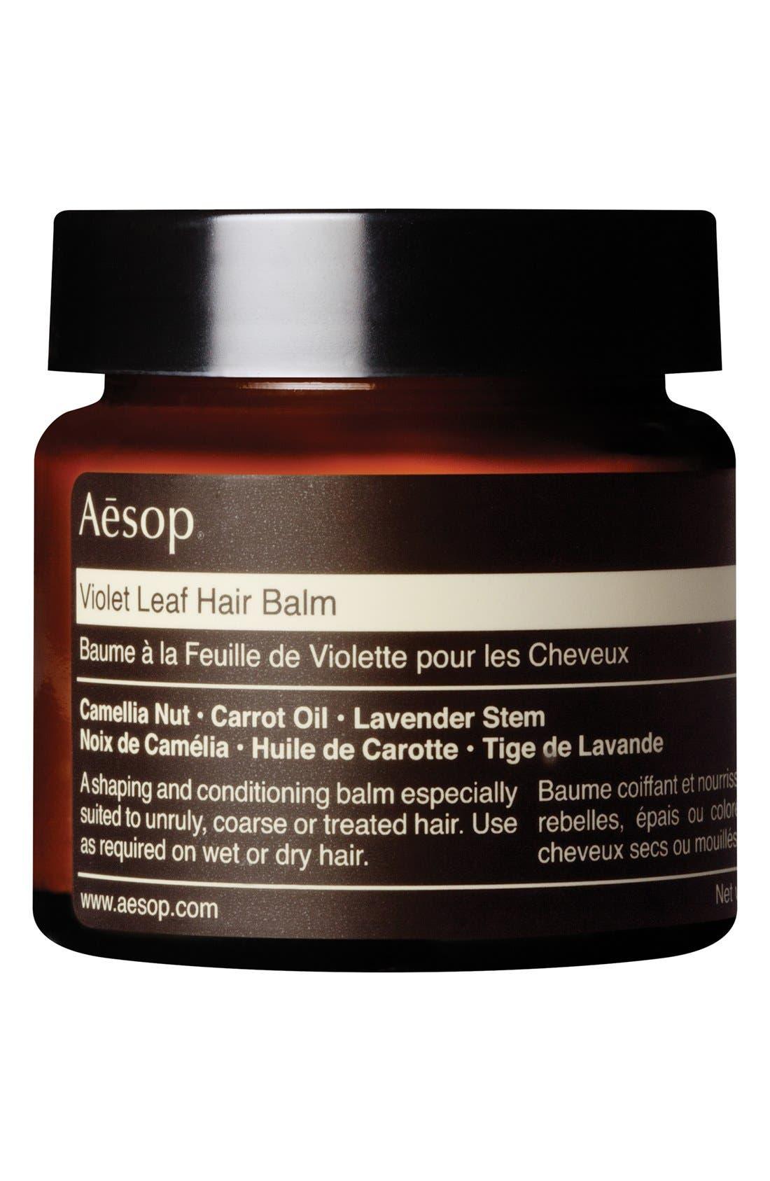 Violet Leaf Hair Balm,                         Main,                         color, 960