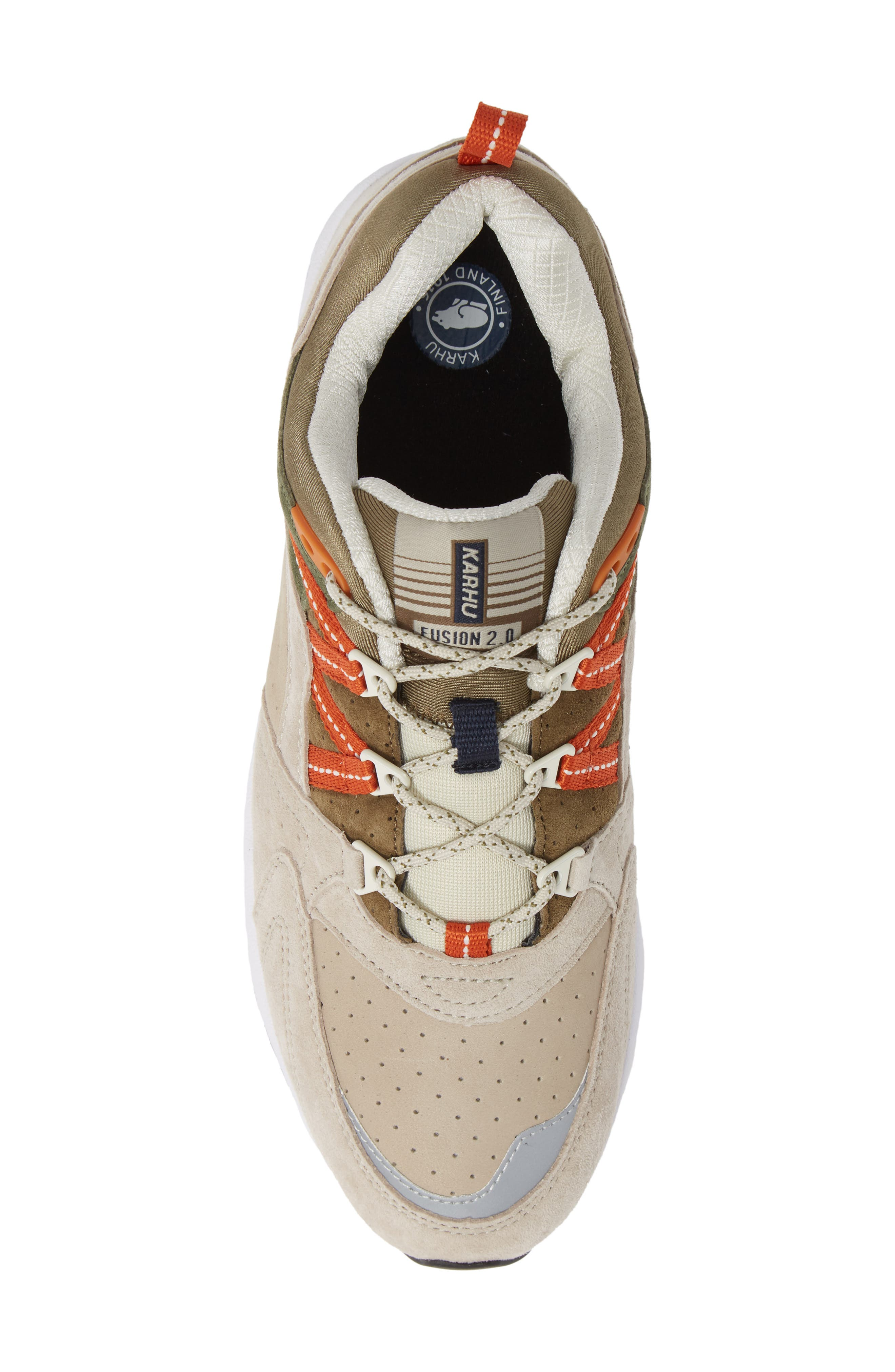 Fusion 2.0 Sneaker,                             Alternate thumbnail 5, color,                             PEYOTE / MILITARY OLIVE