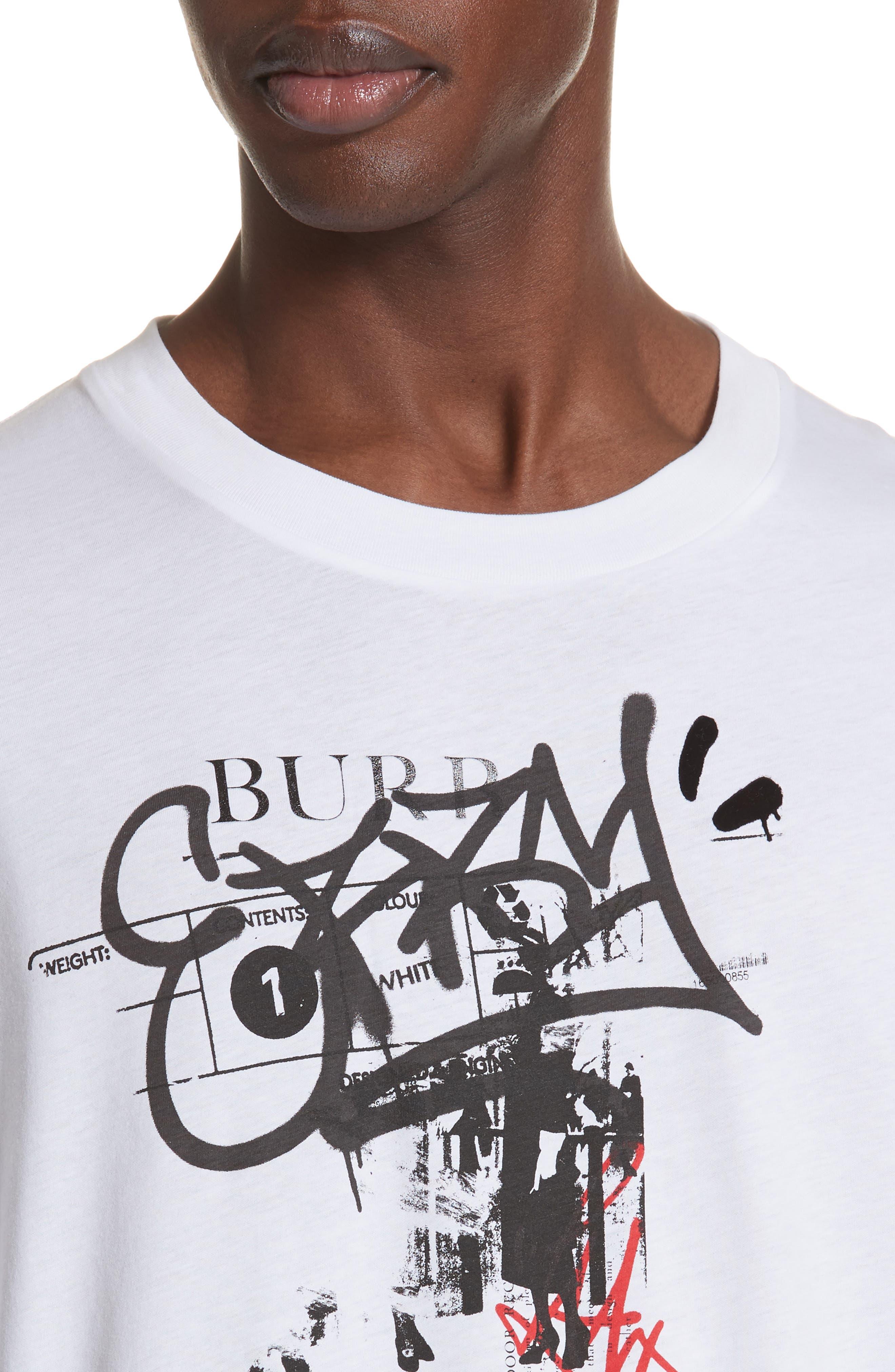 Cordan Graphic T-Shirt,                             Alternate thumbnail 4, color,                             WHITE