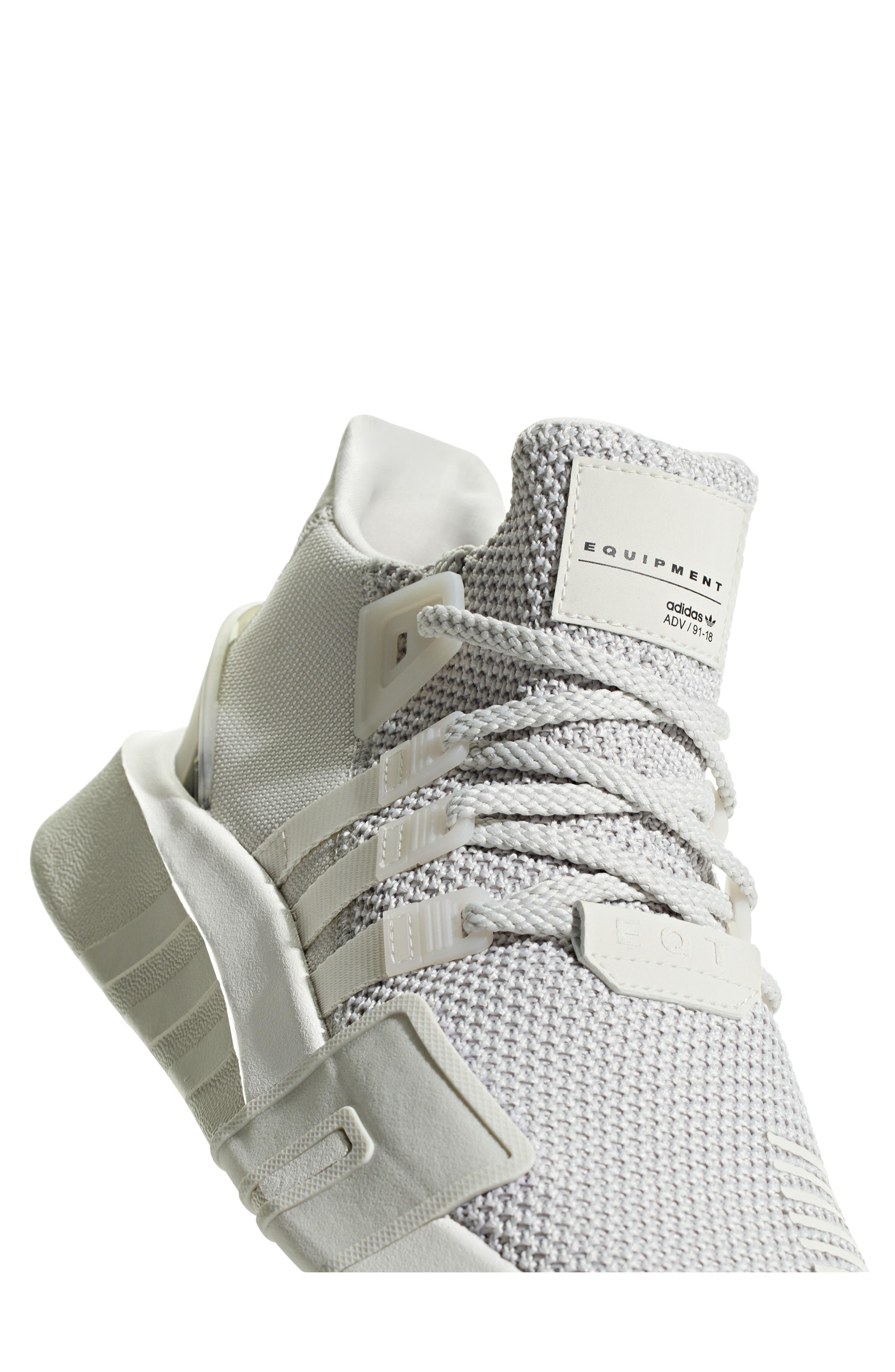 EQT Basketball ADV Sneaker,                             Alternate thumbnail 6, color,                             GREY/ CHALK WHITE