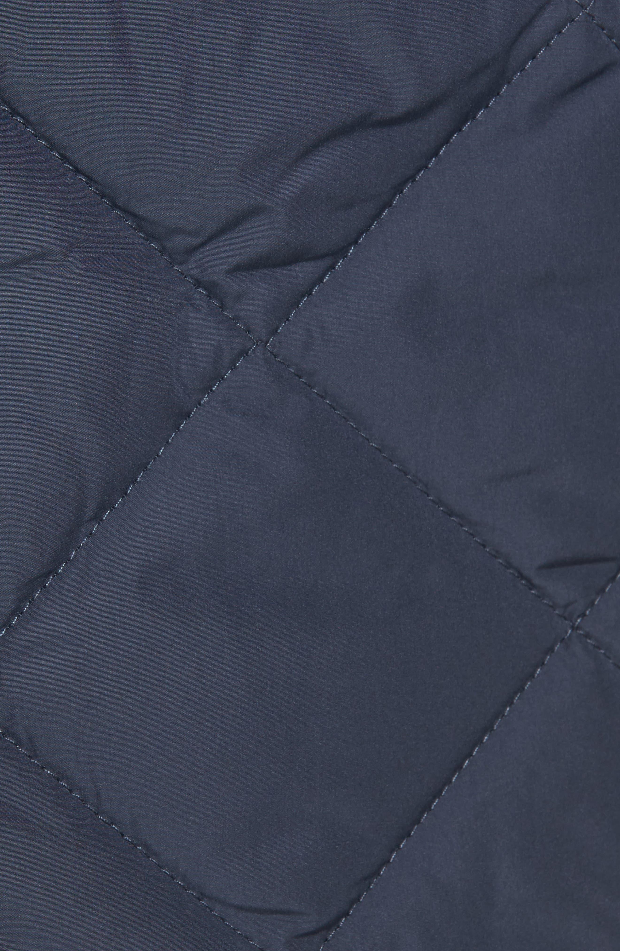 IIse Jacobsen Hornbaek Quilted Coat,                             Alternate thumbnail 6, color,                             401