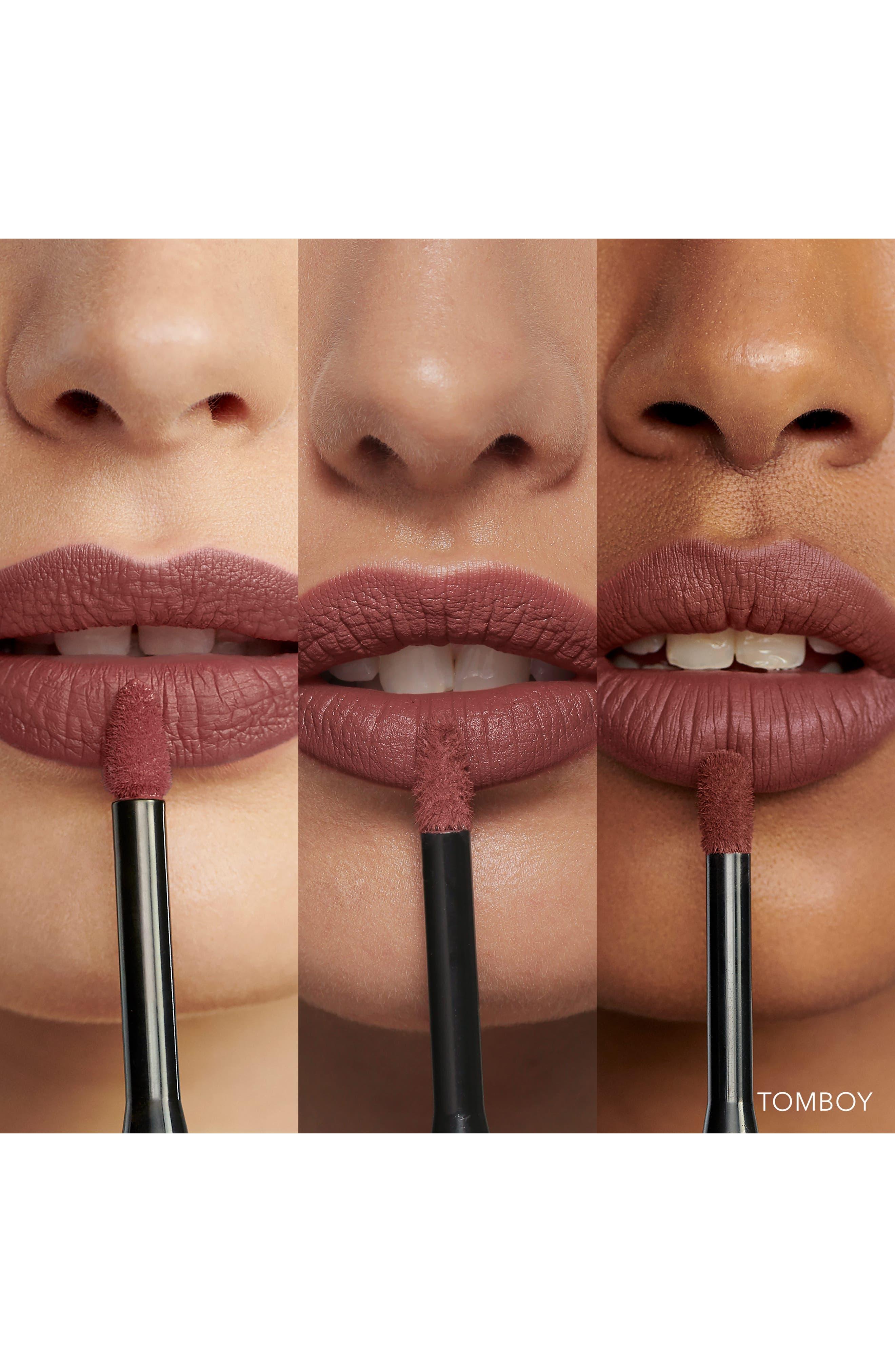 Luxe Liquid Lip High Shine,                             Alternate thumbnail 3, color,                             TOMBOY