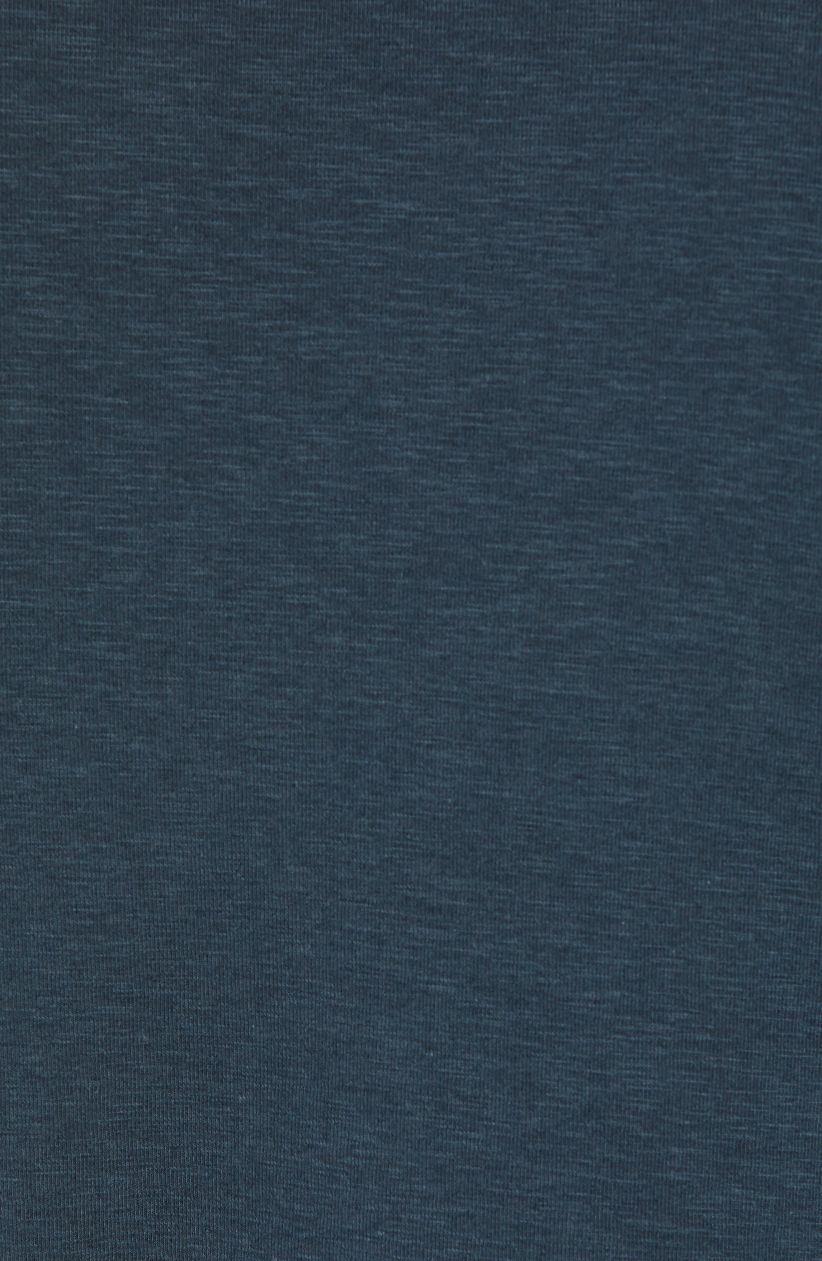 Douglas Slub Long Sleeve T-Shirt,                             Alternate thumbnail 5, color,                             TEAL
