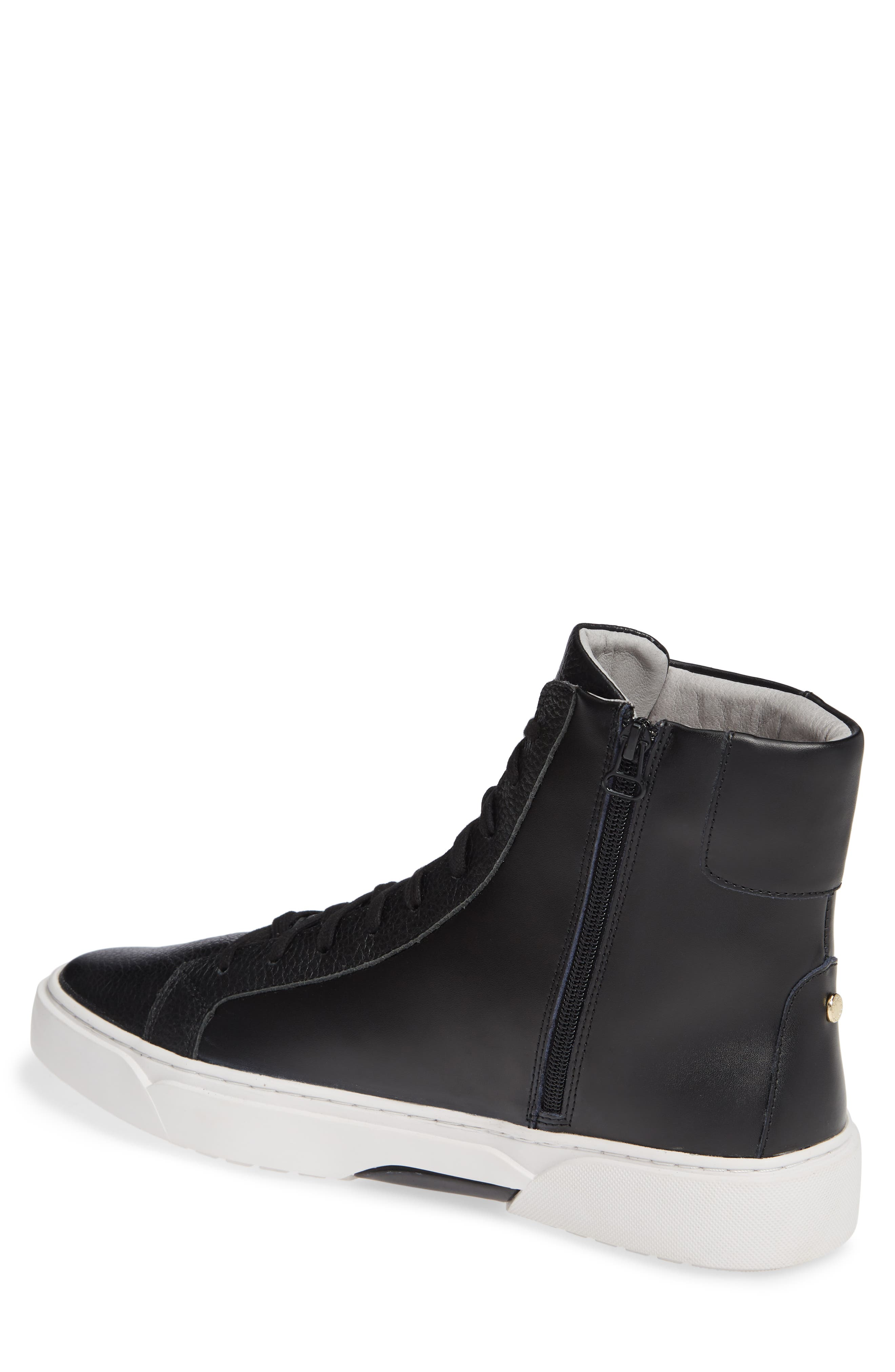 Logan High Top Sneaker,                             Alternate thumbnail 2, color,                             HIGHLAND LEATHER