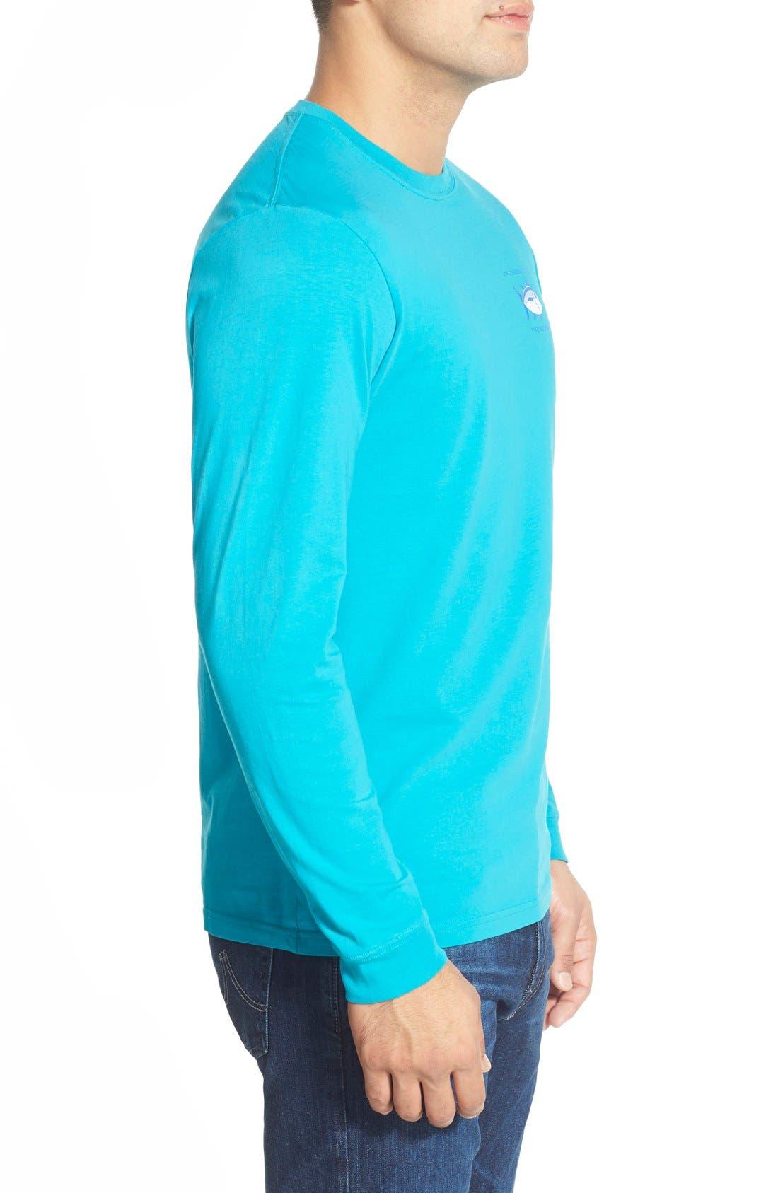 'Skipjack'Long Sleeve Graphic T-Shirt,                             Alternate thumbnail 28, color,