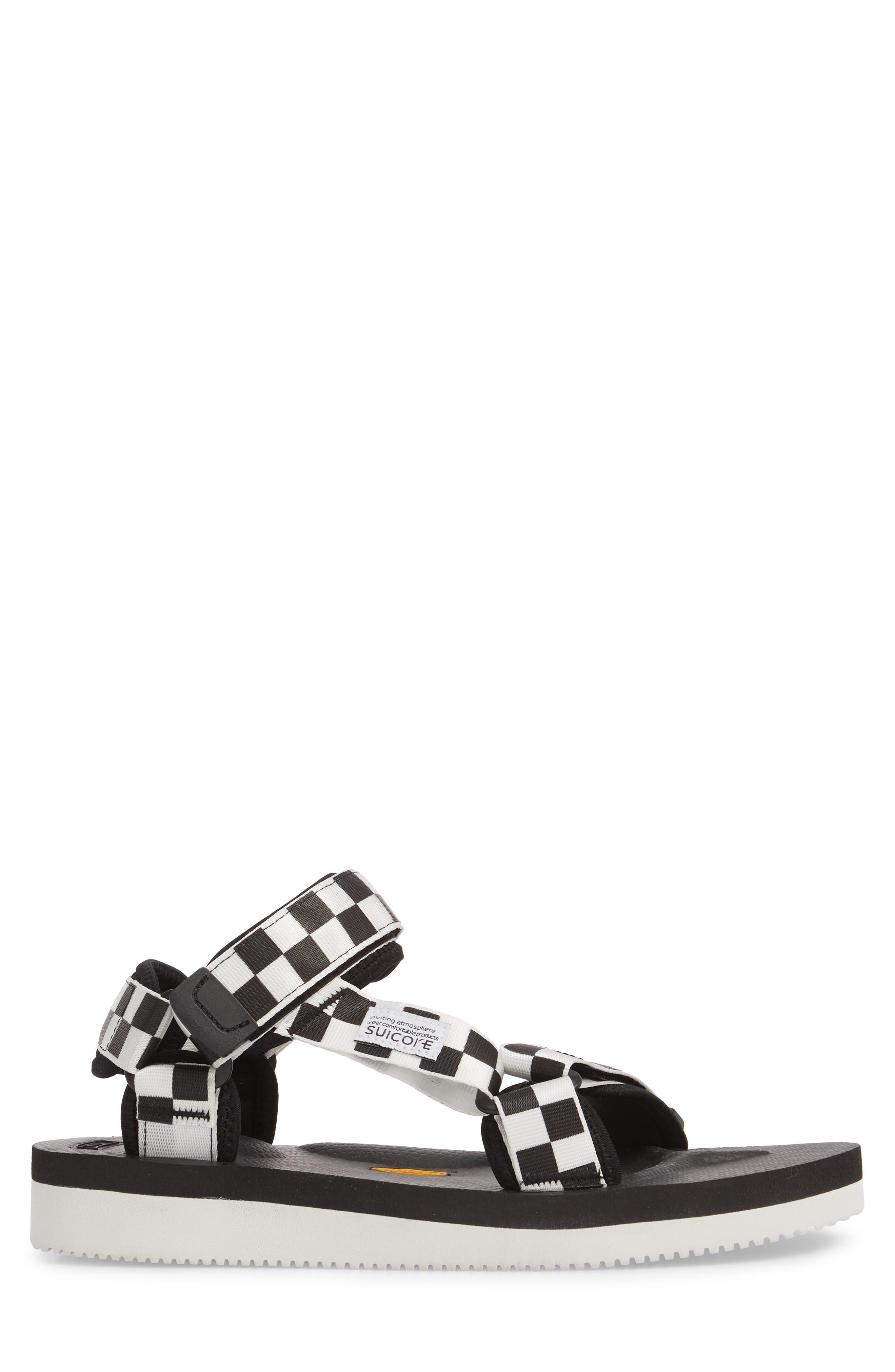 Depa Sport Sandal,                             Alternate thumbnail 3, color,                             BLACK