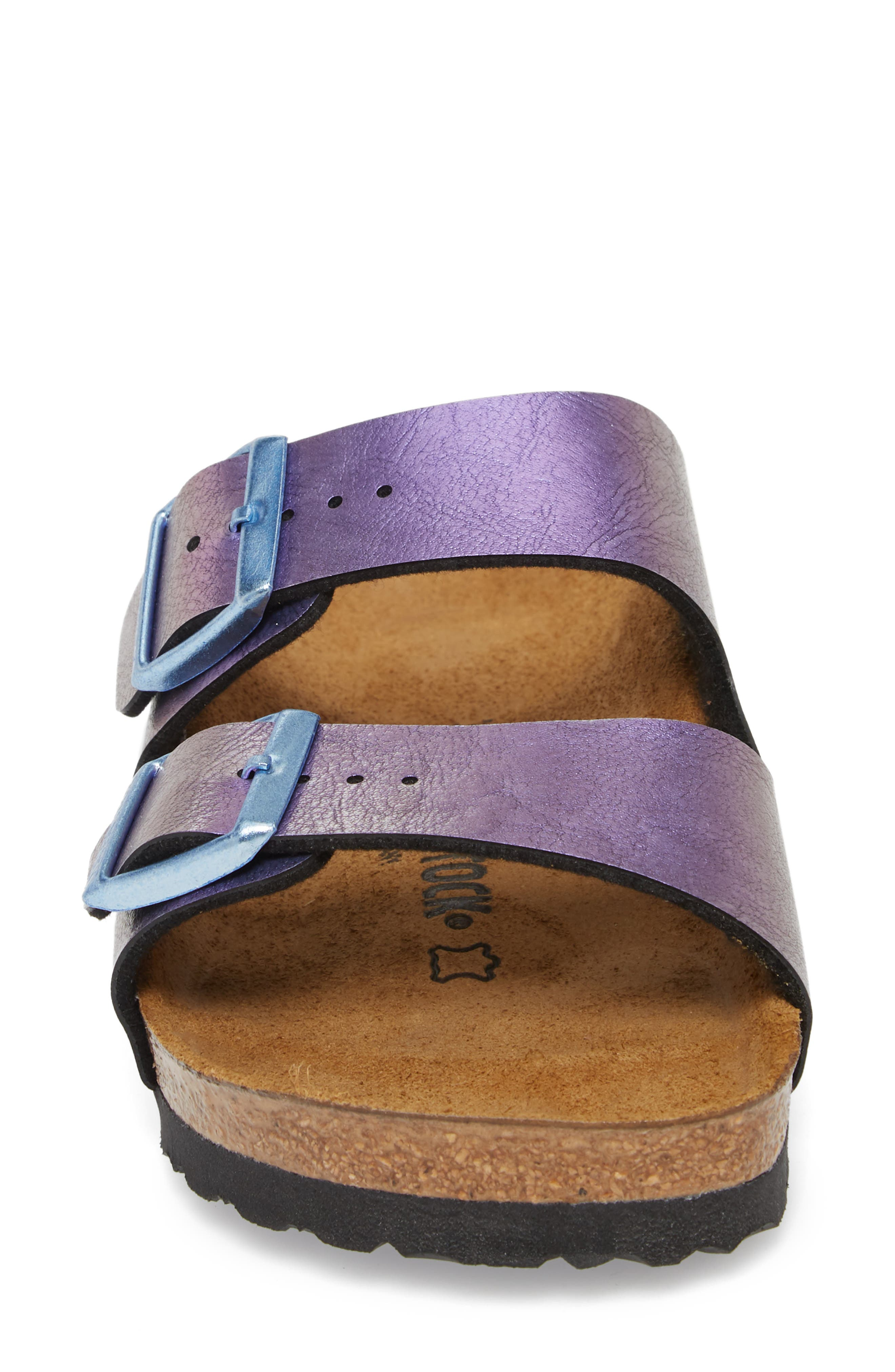 Arizona Graceful Birko-Flor<sup>™</sup> Sandal,                             Alternate thumbnail 4, color,                             VIOLET