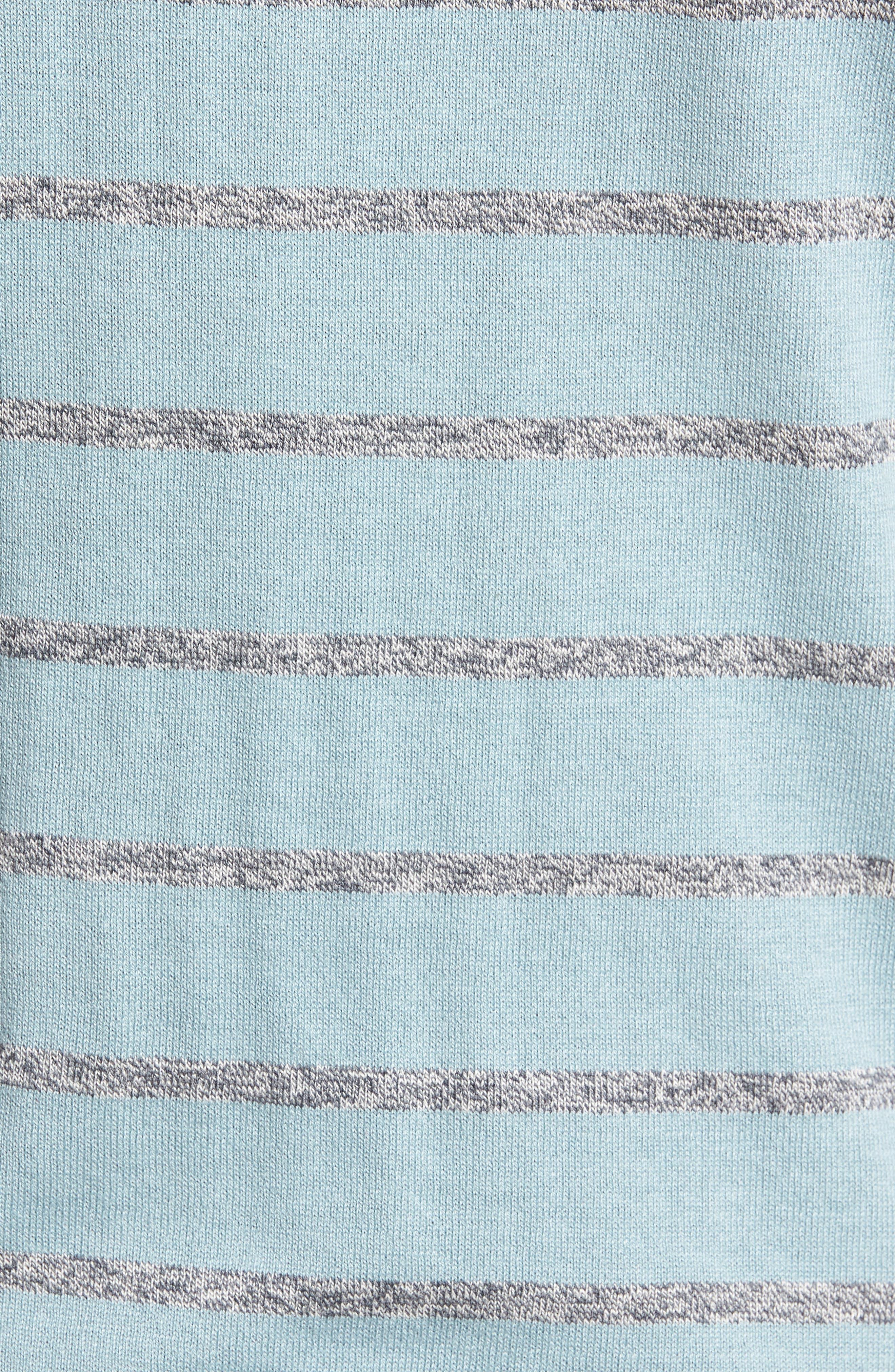 Britnay Trim Fit Stripe Crewneck Sweater,                             Alternate thumbnail 5, color,                             400