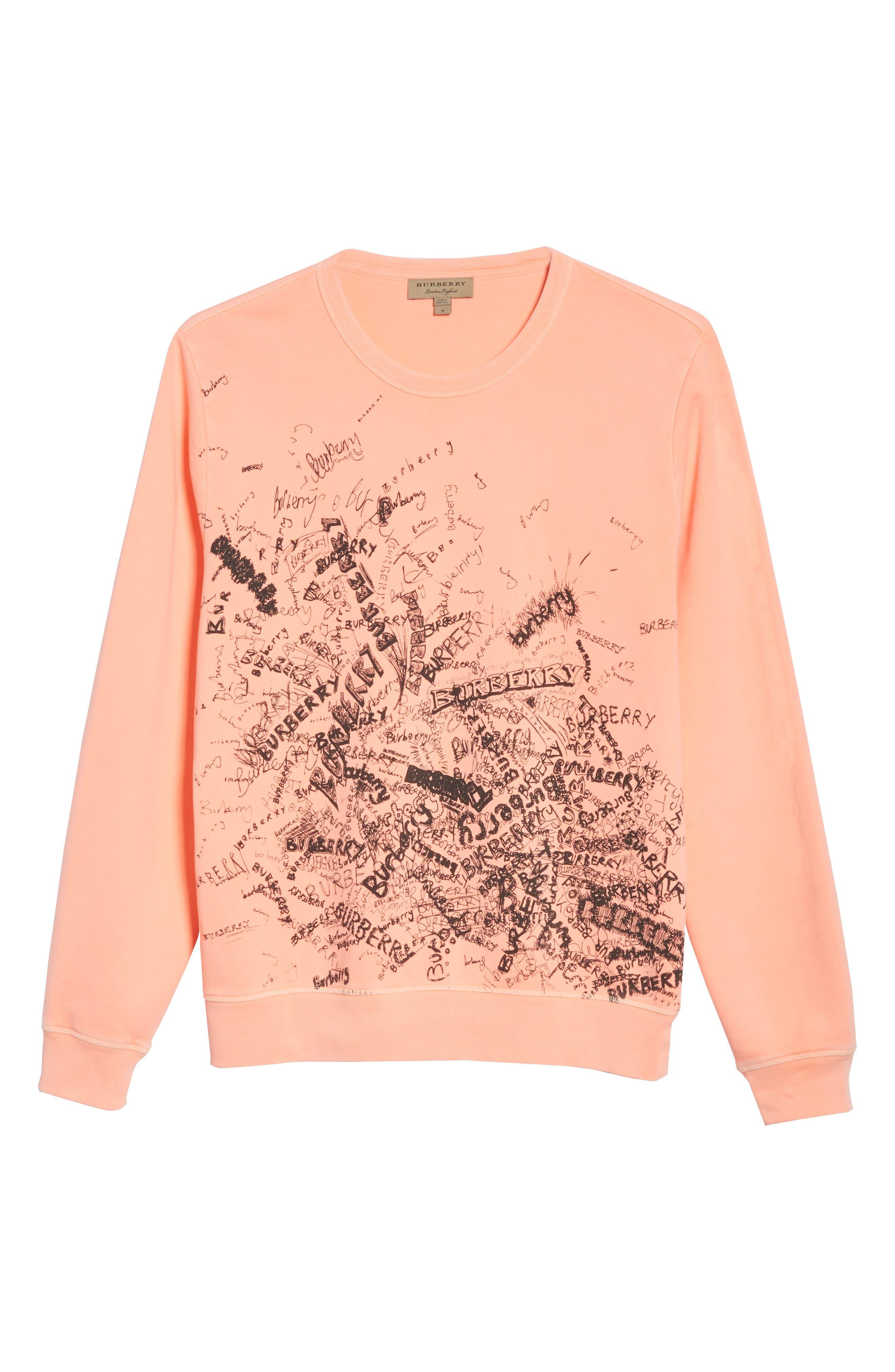 Rennie Graphic Crewneck Sweatshirt,                             Alternate thumbnail 6, color,                             800