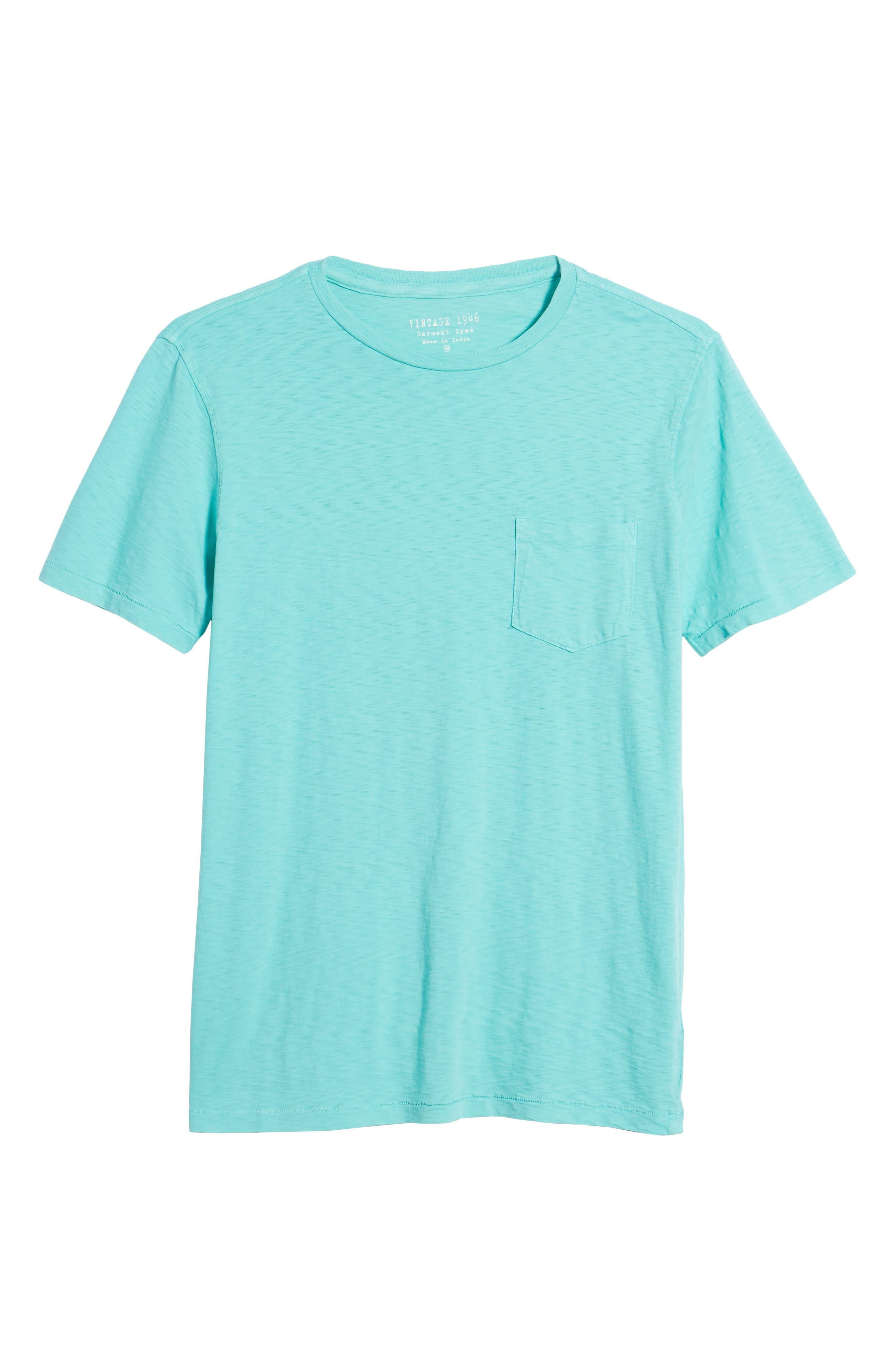 Slub Knit T-Shirt,                             Alternate thumbnail 6, color,                             100