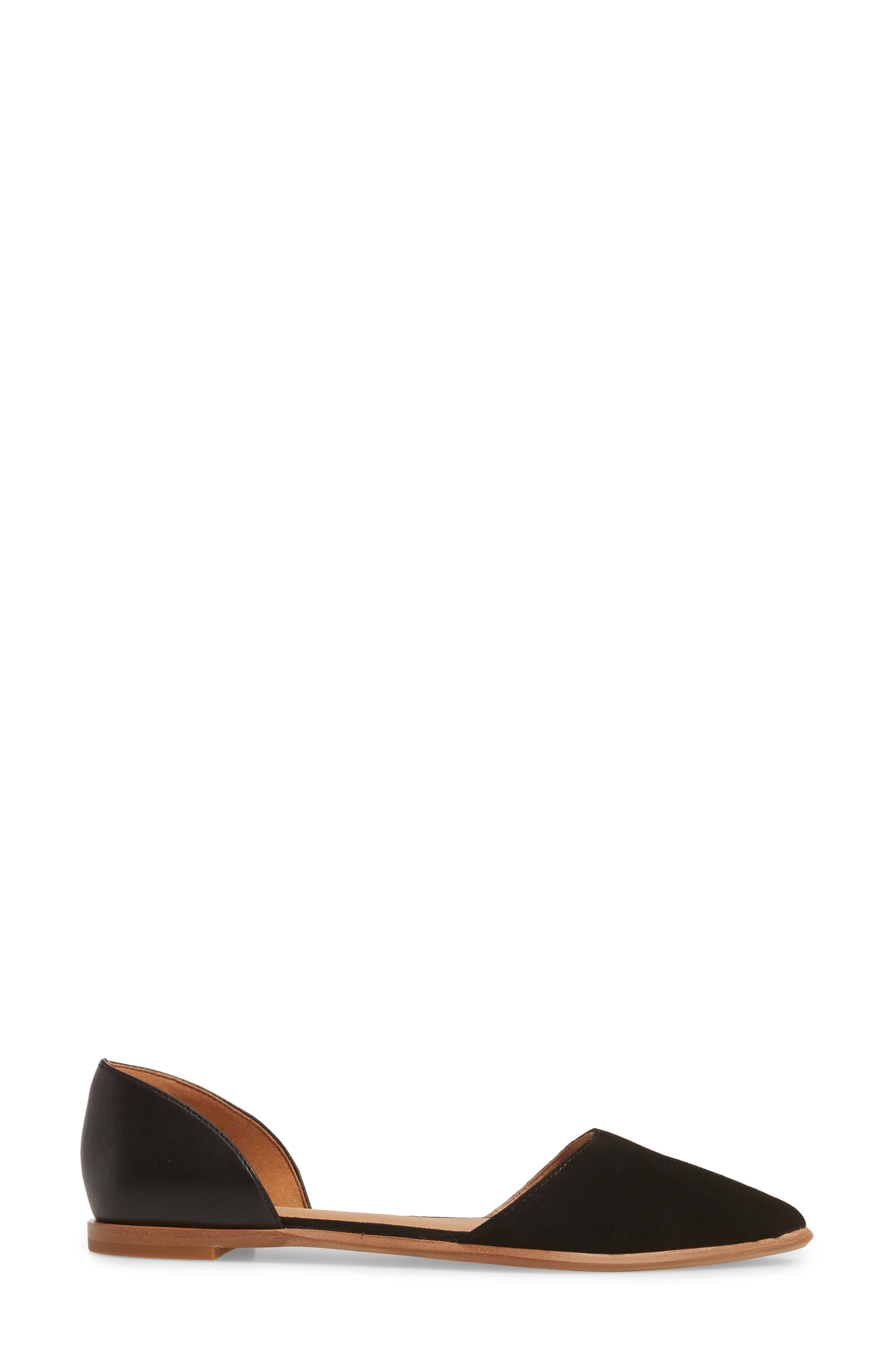 Arielle d'Orsay Flat,                             Alternate thumbnail 3, color,                             001