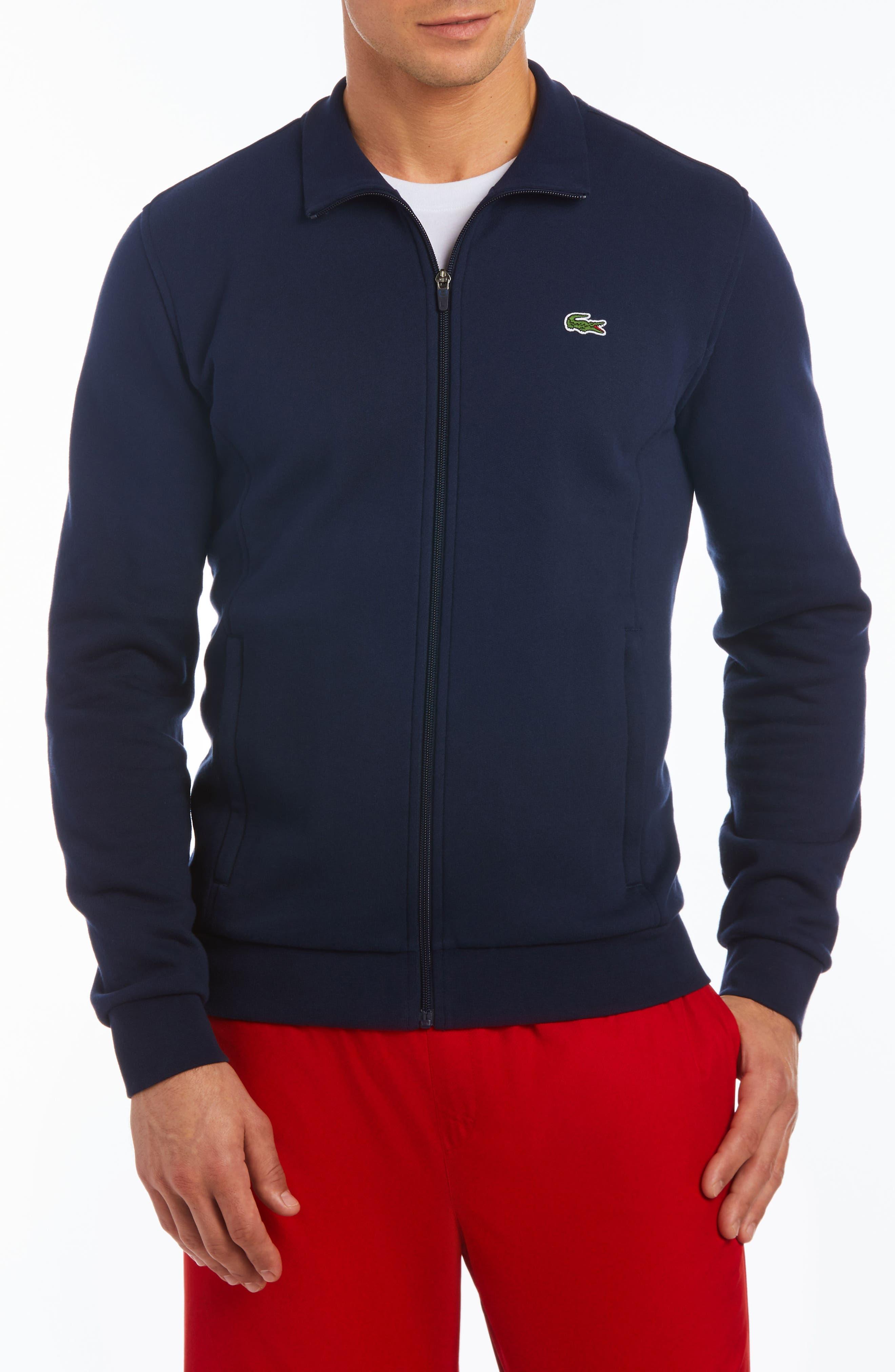 Fleece Zip Jacket,                             Main thumbnail 4, color,