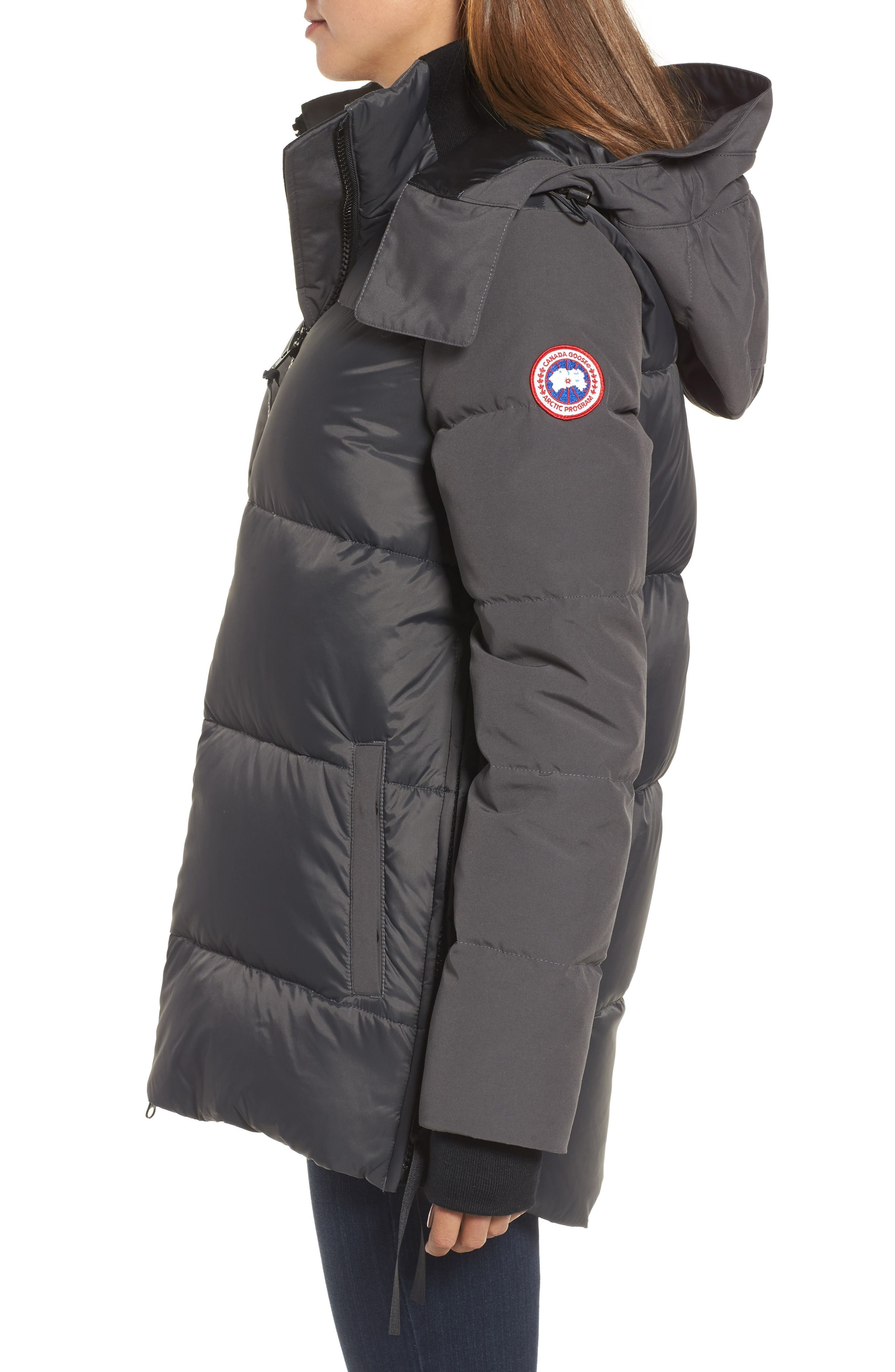 Whitehorse Hooded Water Resistant 675-Fill-Power Down Parka,                             Alternate thumbnail 9, color,