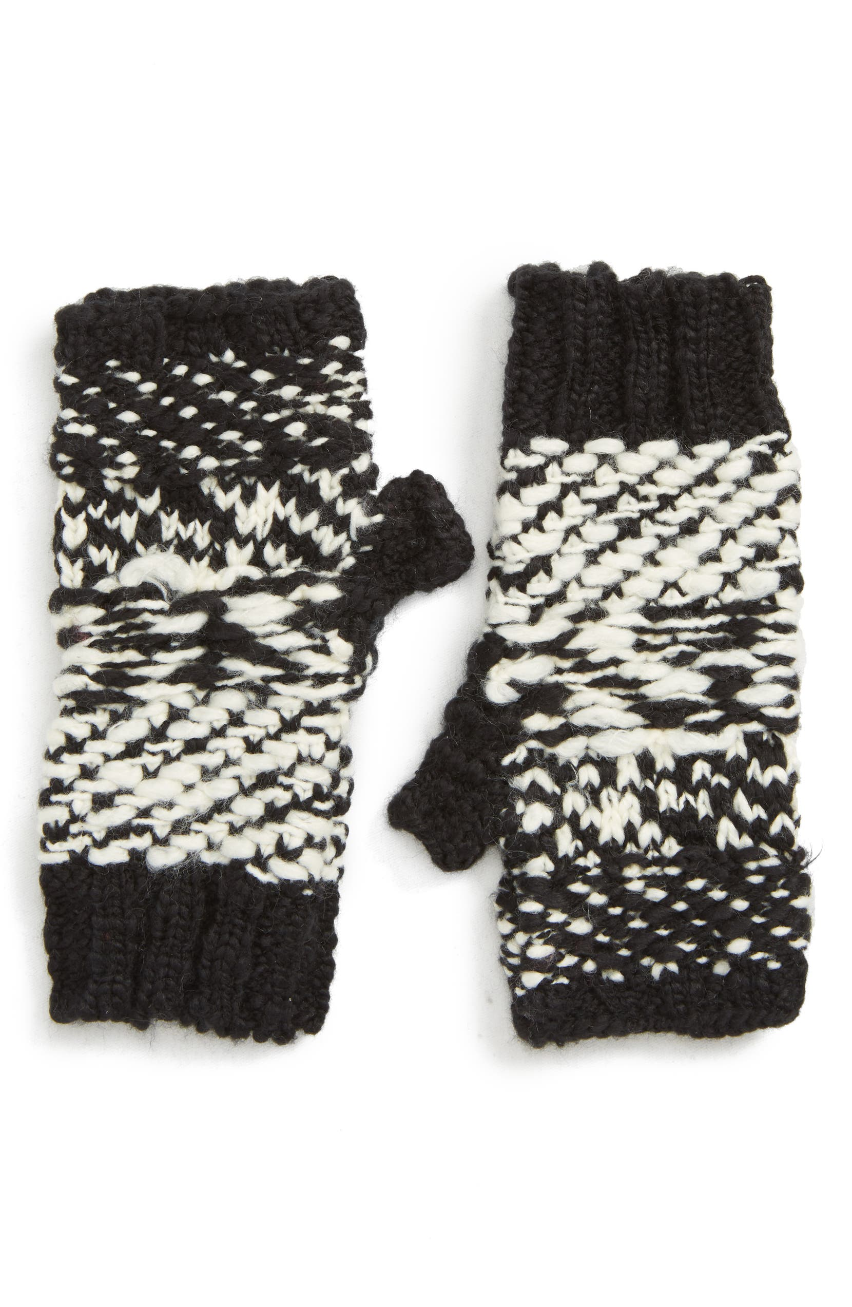 Free People Keep Cozy Knit Fingerless Gloves | Nordstrom