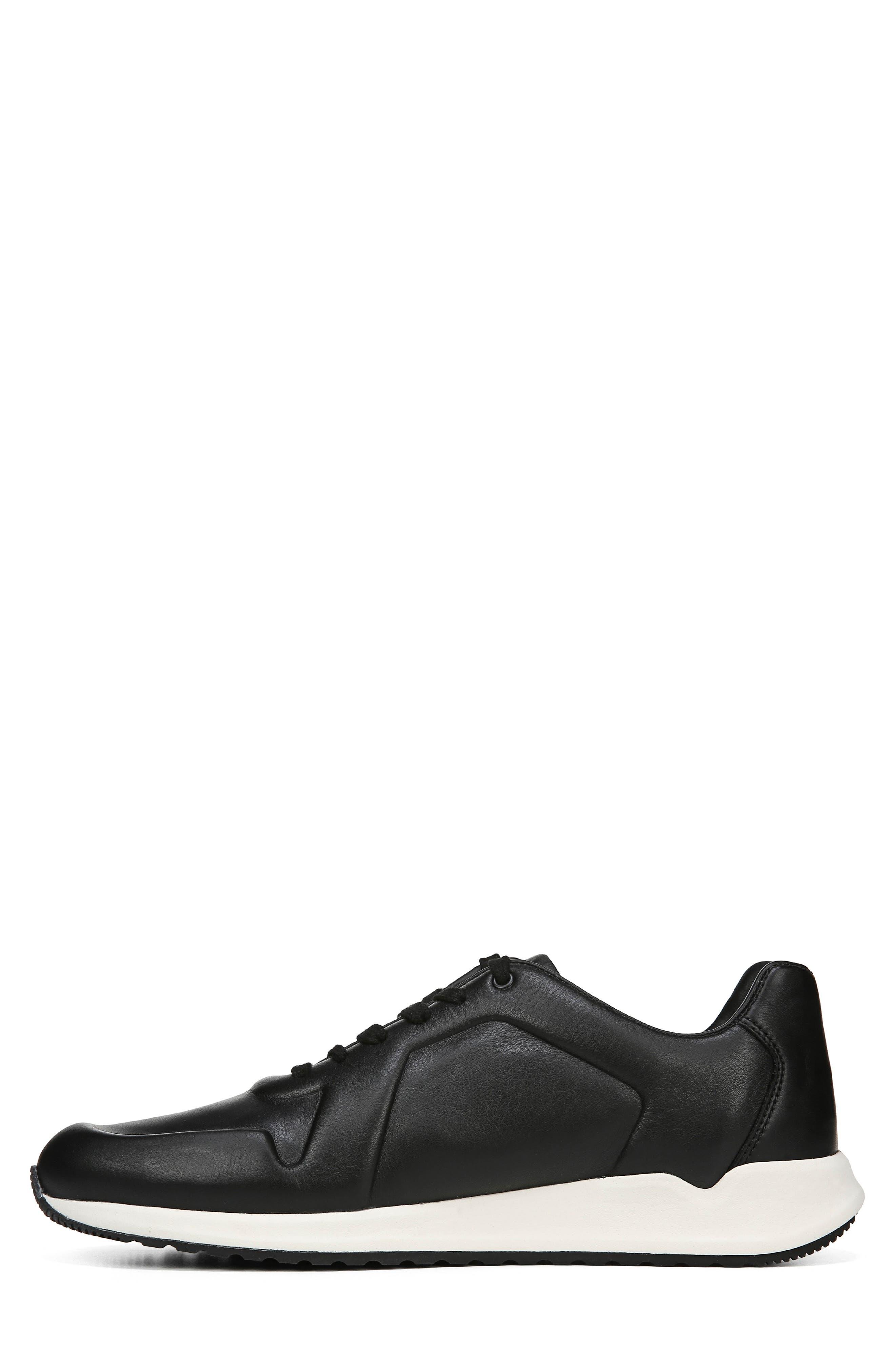 Garrett Sneaker,                             Alternate thumbnail 9, color,                             BLACK/ BLACK