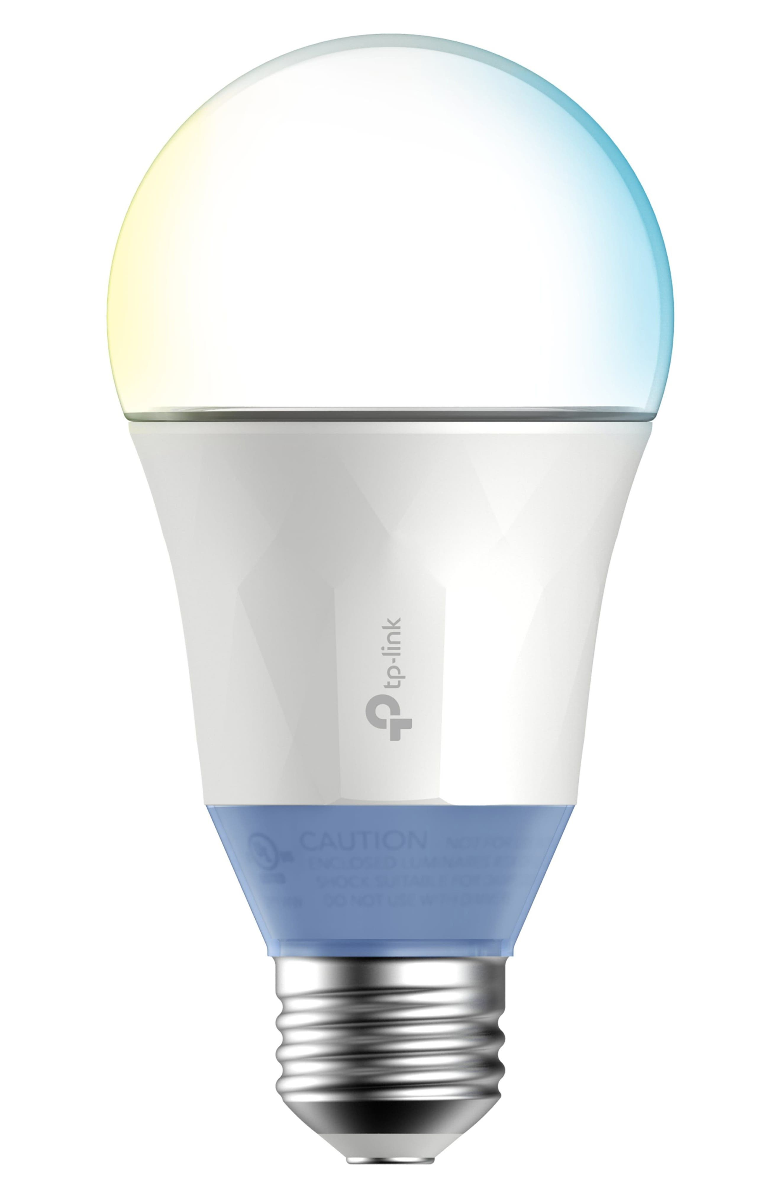 Smart Wi-Fi Tunable LED Light Bulb,                         Main,                         color, WHITE