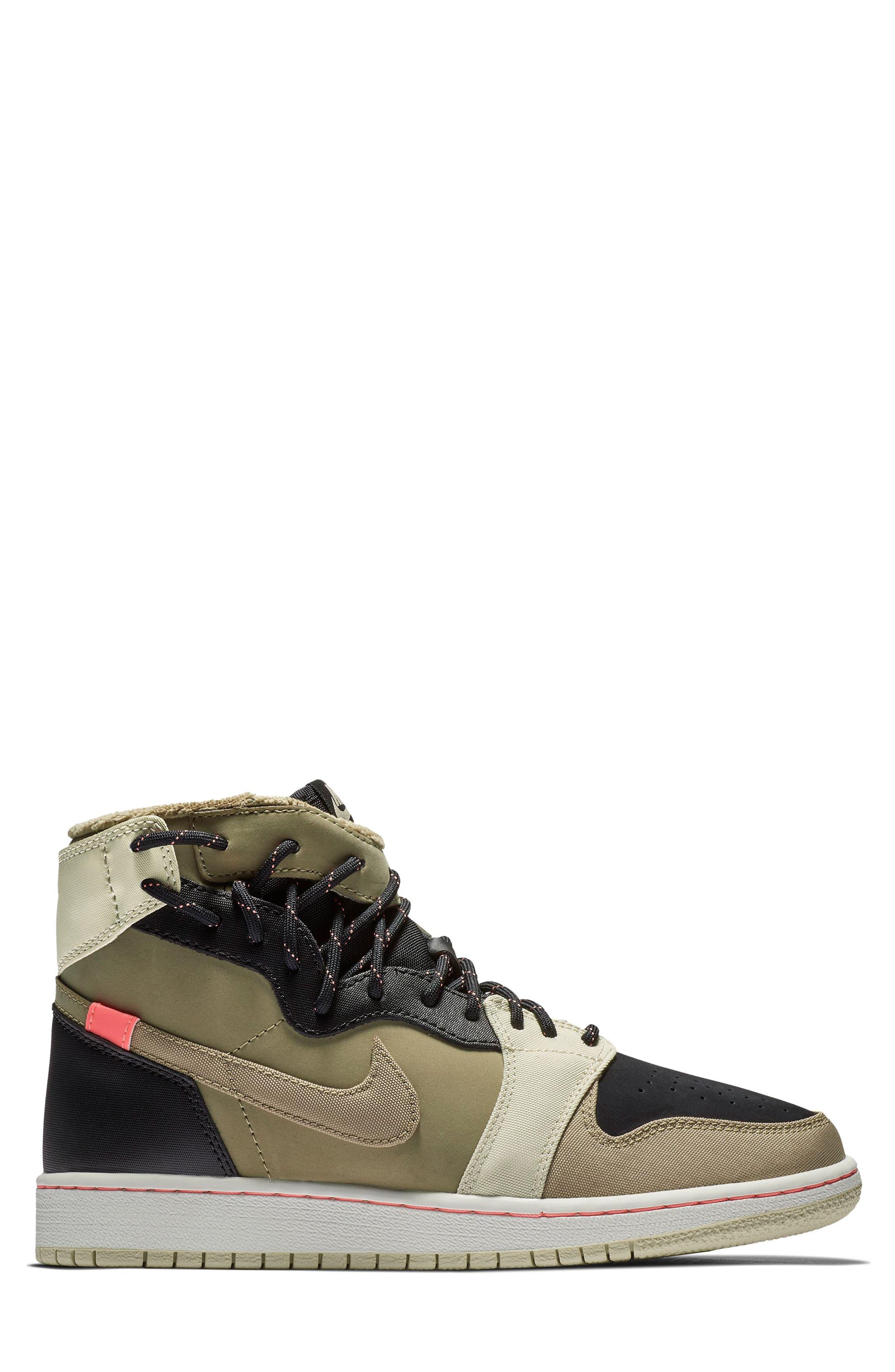 Air Jordan 1 Rebel XX Utility High Top Sneaker,                             Alternate thumbnail 3, color,                             PARACHUTE BEIGE