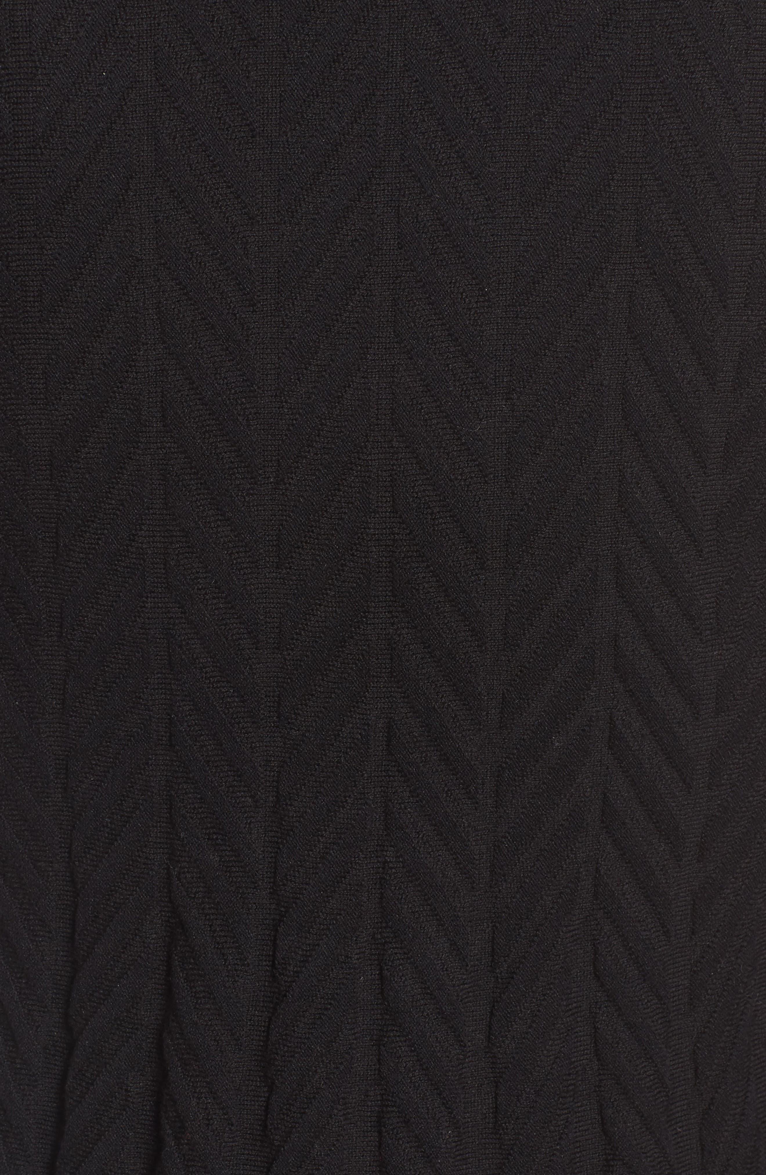 Chevron Stitch Sweater,                             Alternate thumbnail 5, color,                             010