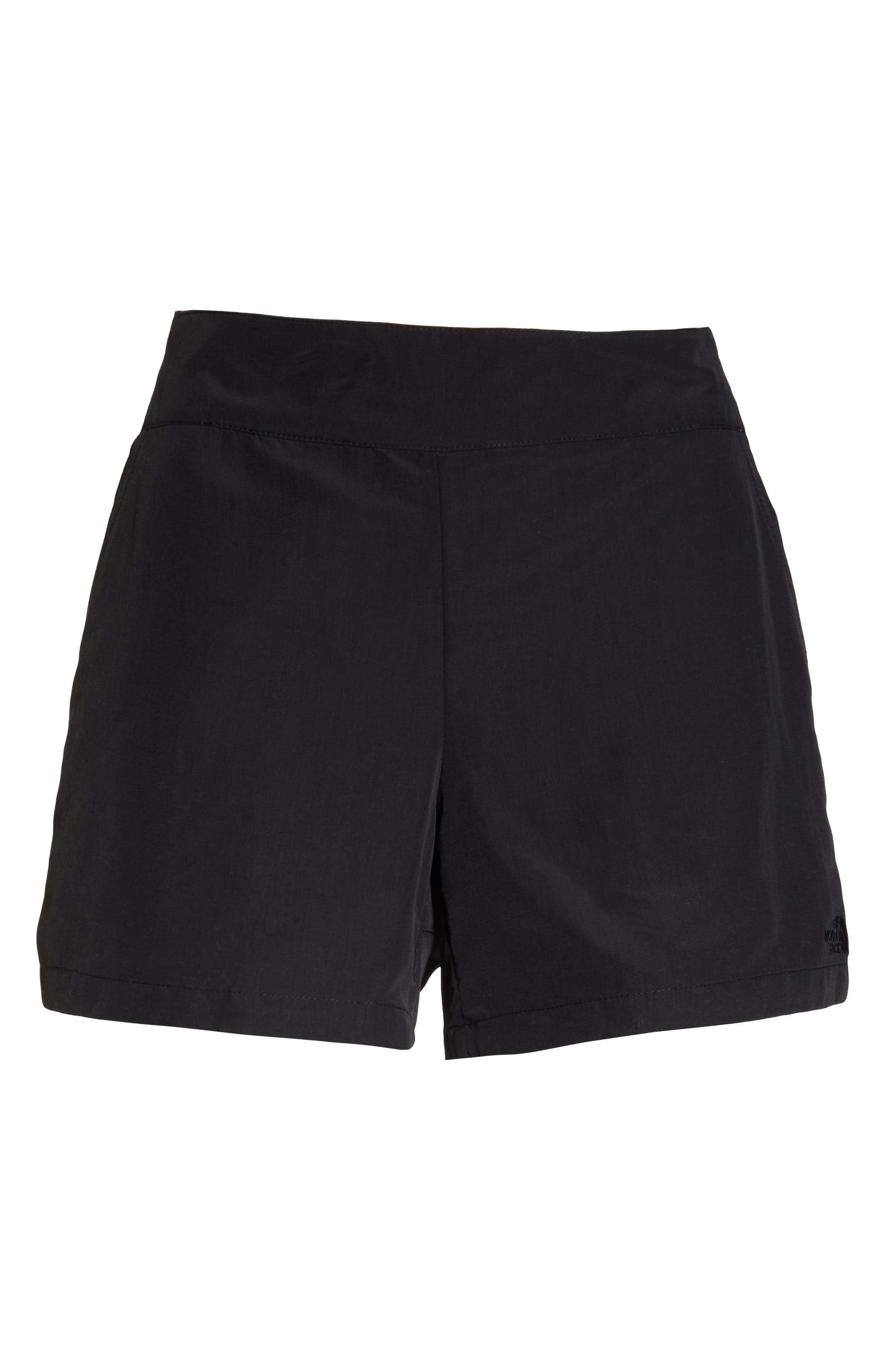 THE NORTH FACE,                             92 Rage Lounger Shorts,                             Alternate thumbnail 7, color,                             TNF BLACK