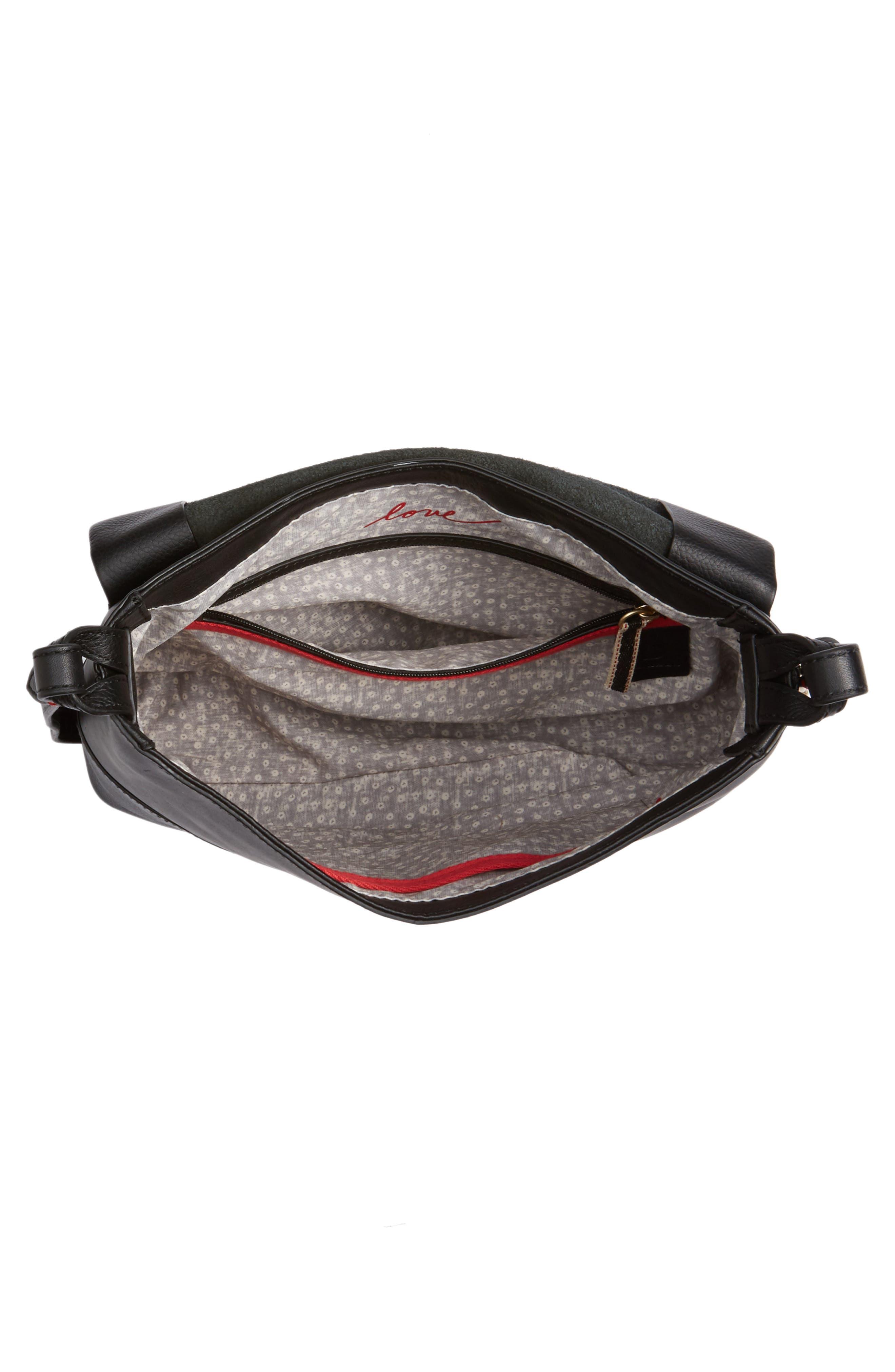 Medium Brea Crossbody Bag,                             Alternate thumbnail 4, color,                             001