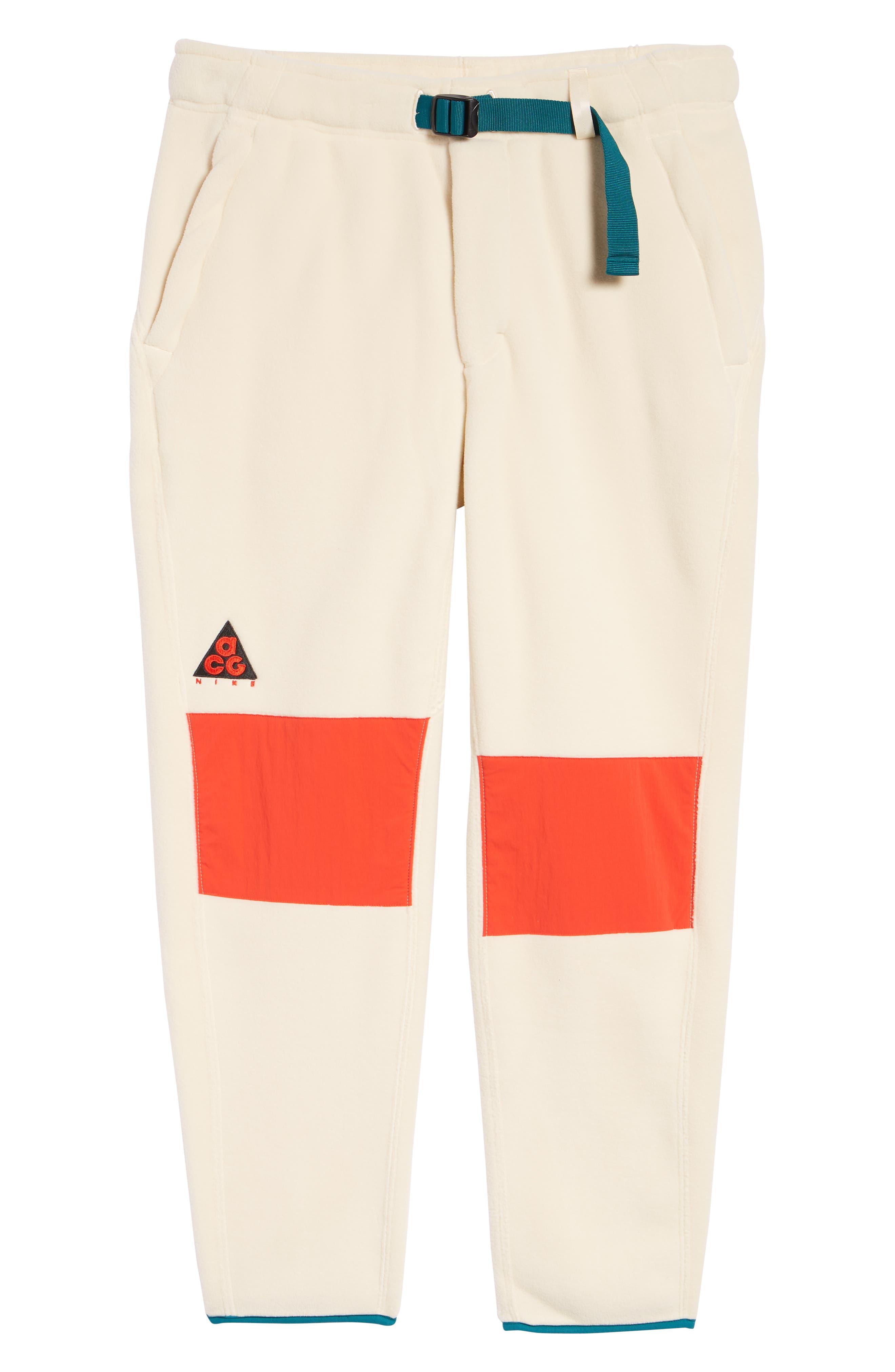 ACG Men's Fleece Pants,                             Alternate thumbnail 6, color,                             LIGHT CREAM
