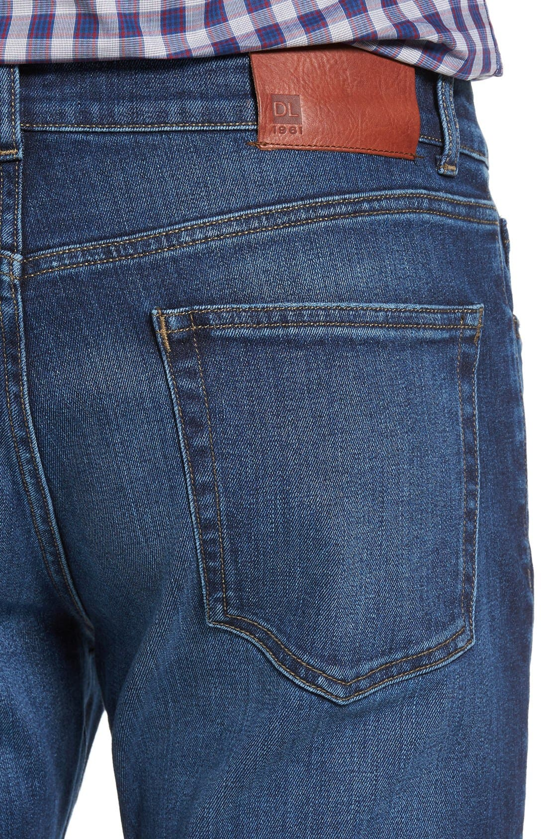 Russel Slim Straight Fit Jeans,                             Alternate thumbnail 2, color,                             405