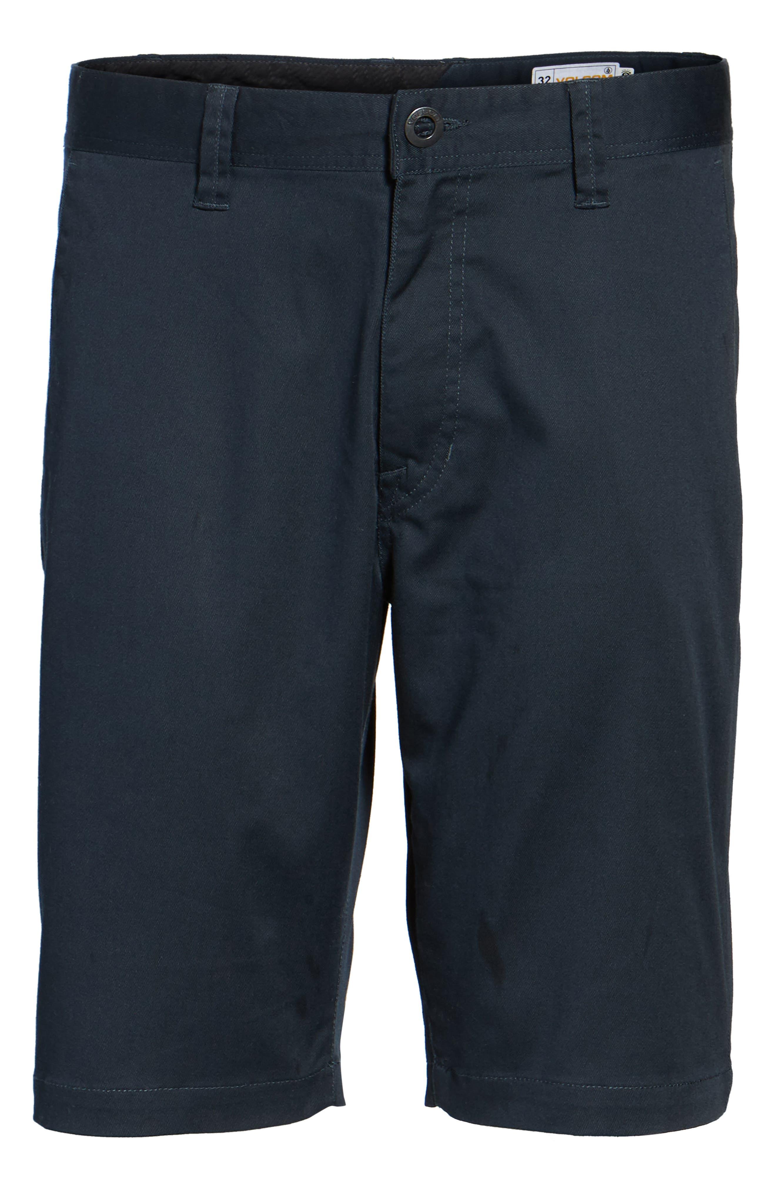 'Modern' Stretch Chino Shorts,                             Alternate thumbnail 57, color,