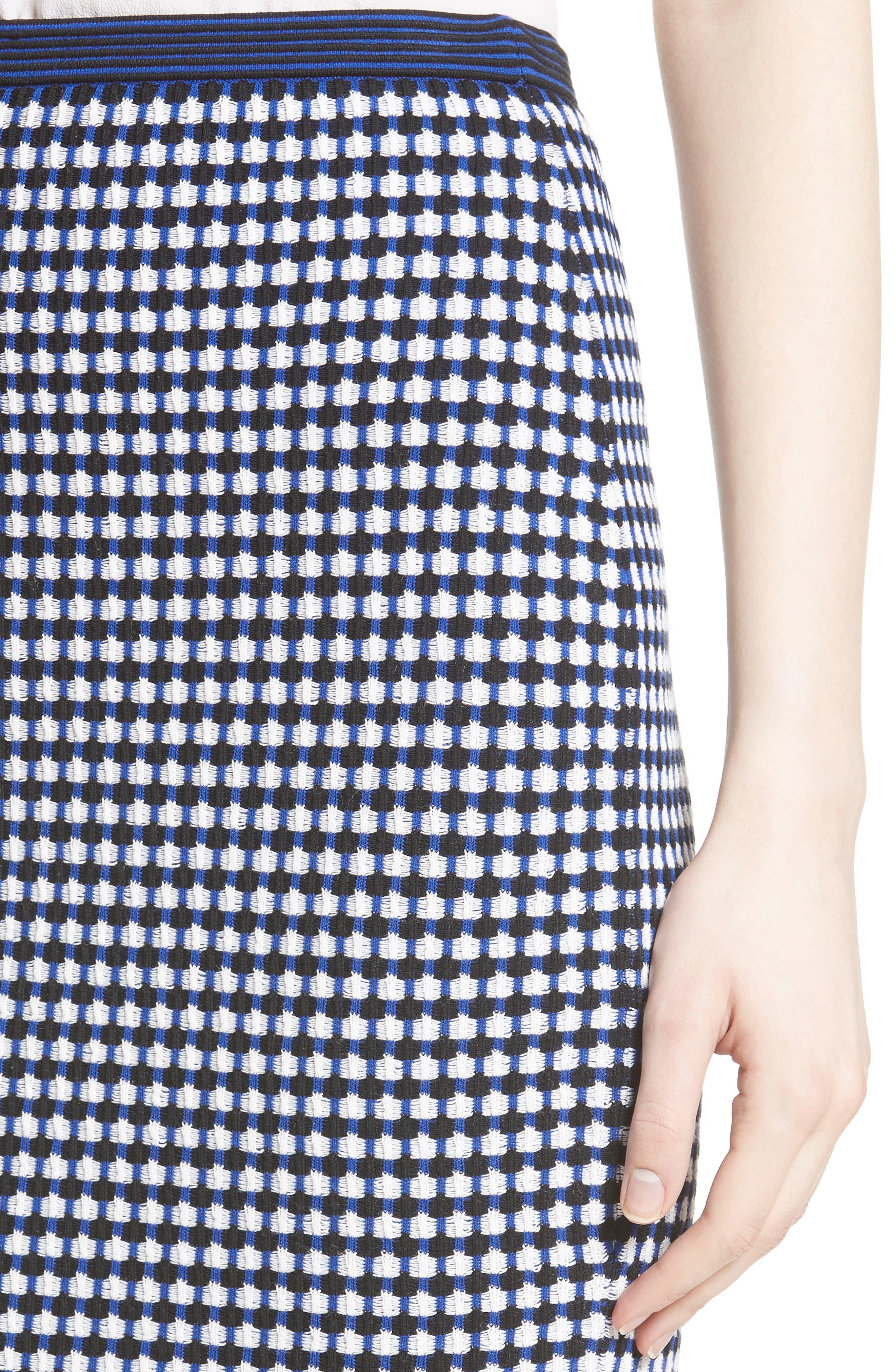 Knit Pencil Skirt,                             Alternate thumbnail 4, color,                             491