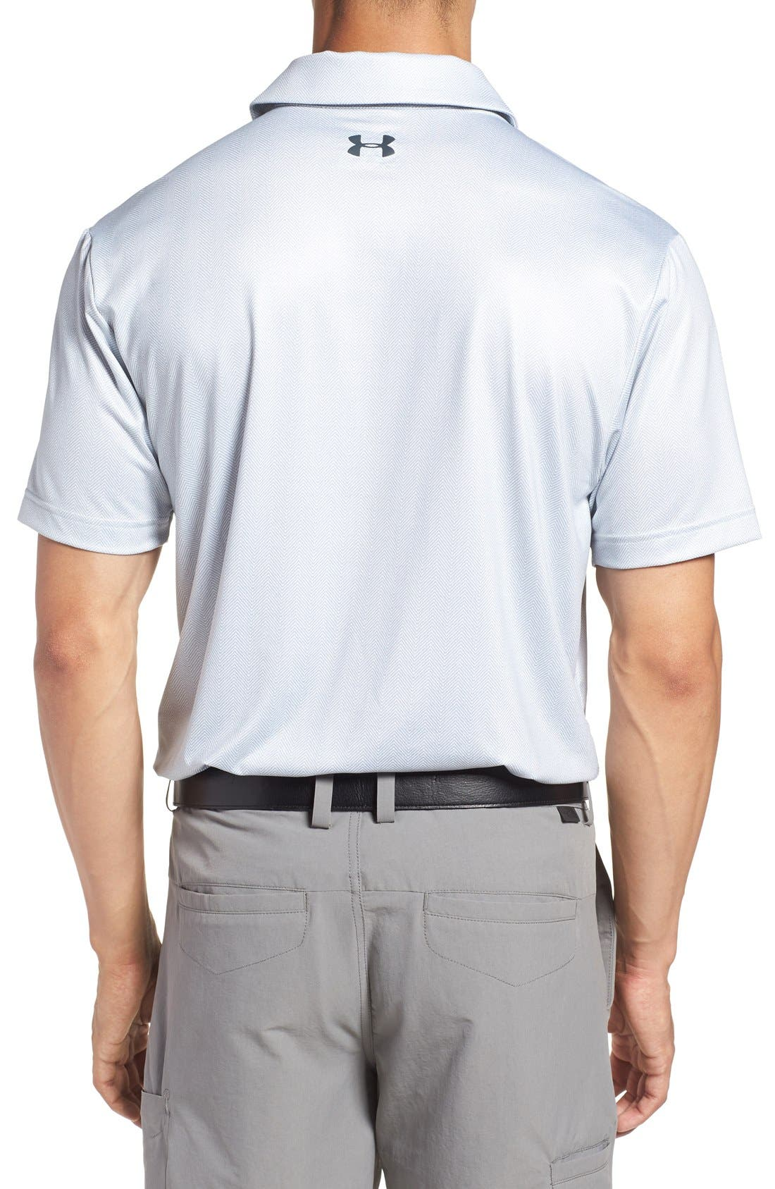 'Playoff' Loose Fit Short Sleeve Polo,                             Alternate thumbnail 134, color,