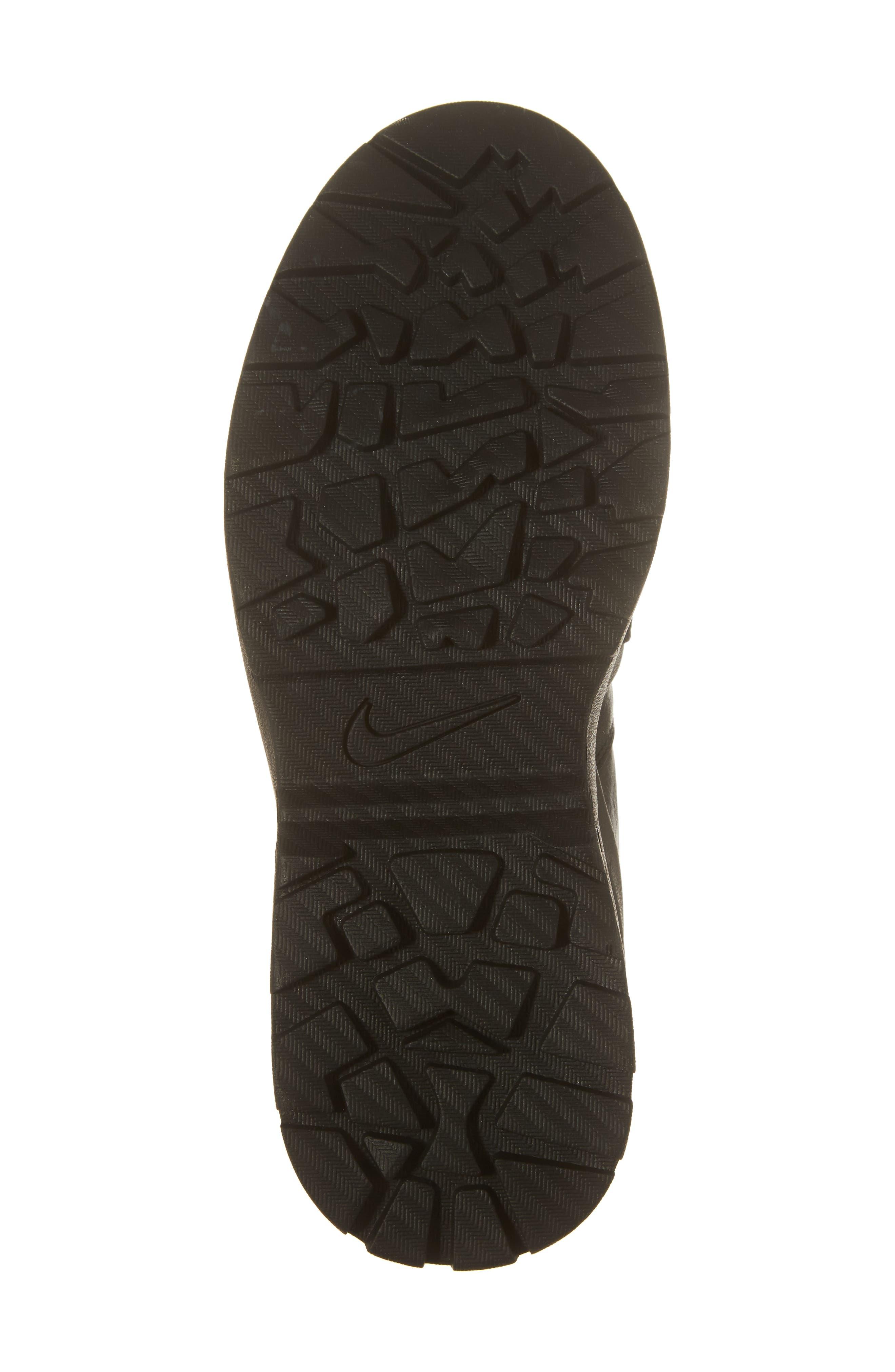 Air Max Goadome Sneaker Boot,                             Alternate thumbnail 6, color,                             BLACK/ ANTHRACITE/ BLACK