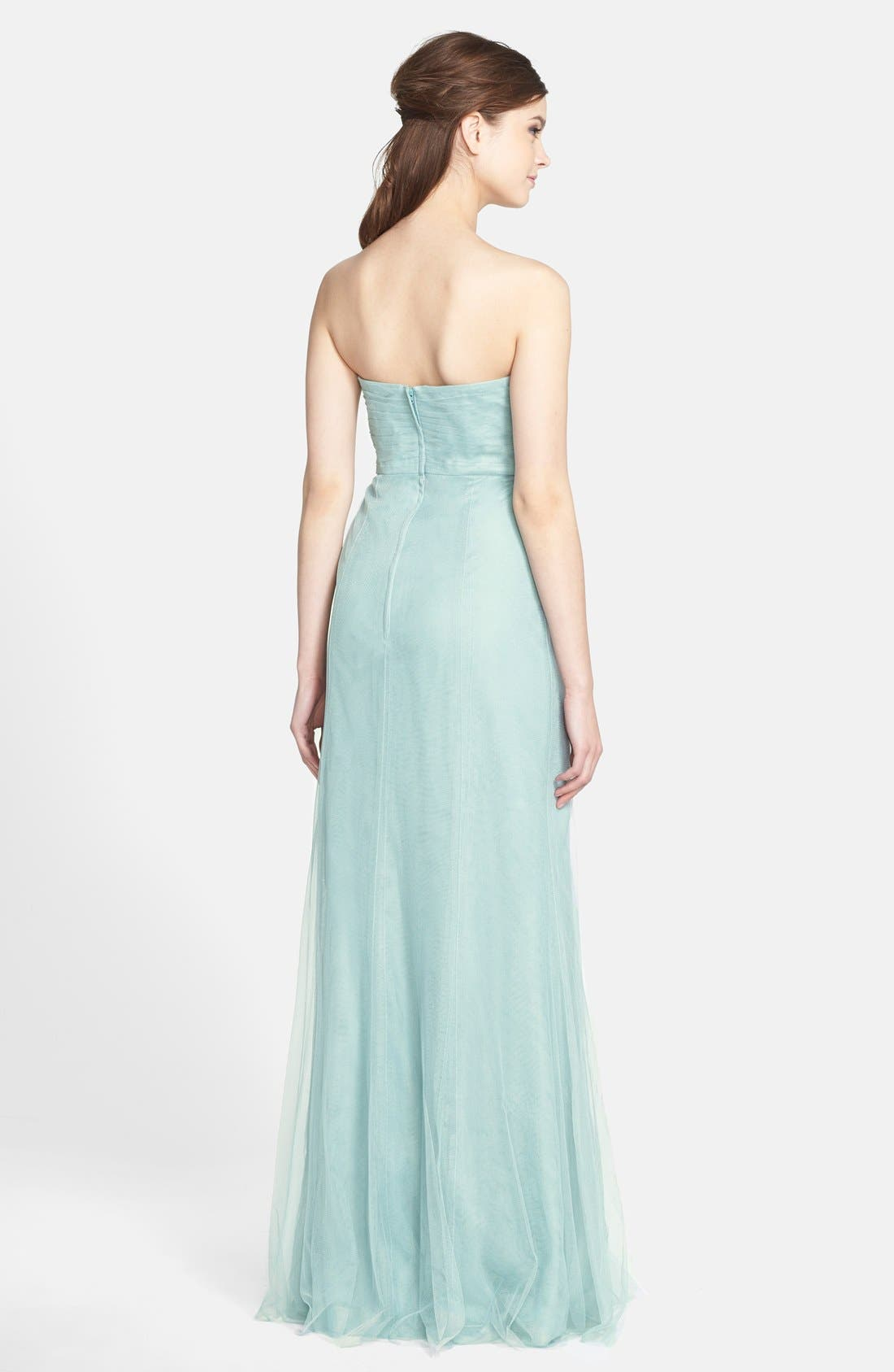 Willow Convertible Tulle Gown,                             Alternate thumbnail 3, color,                             455