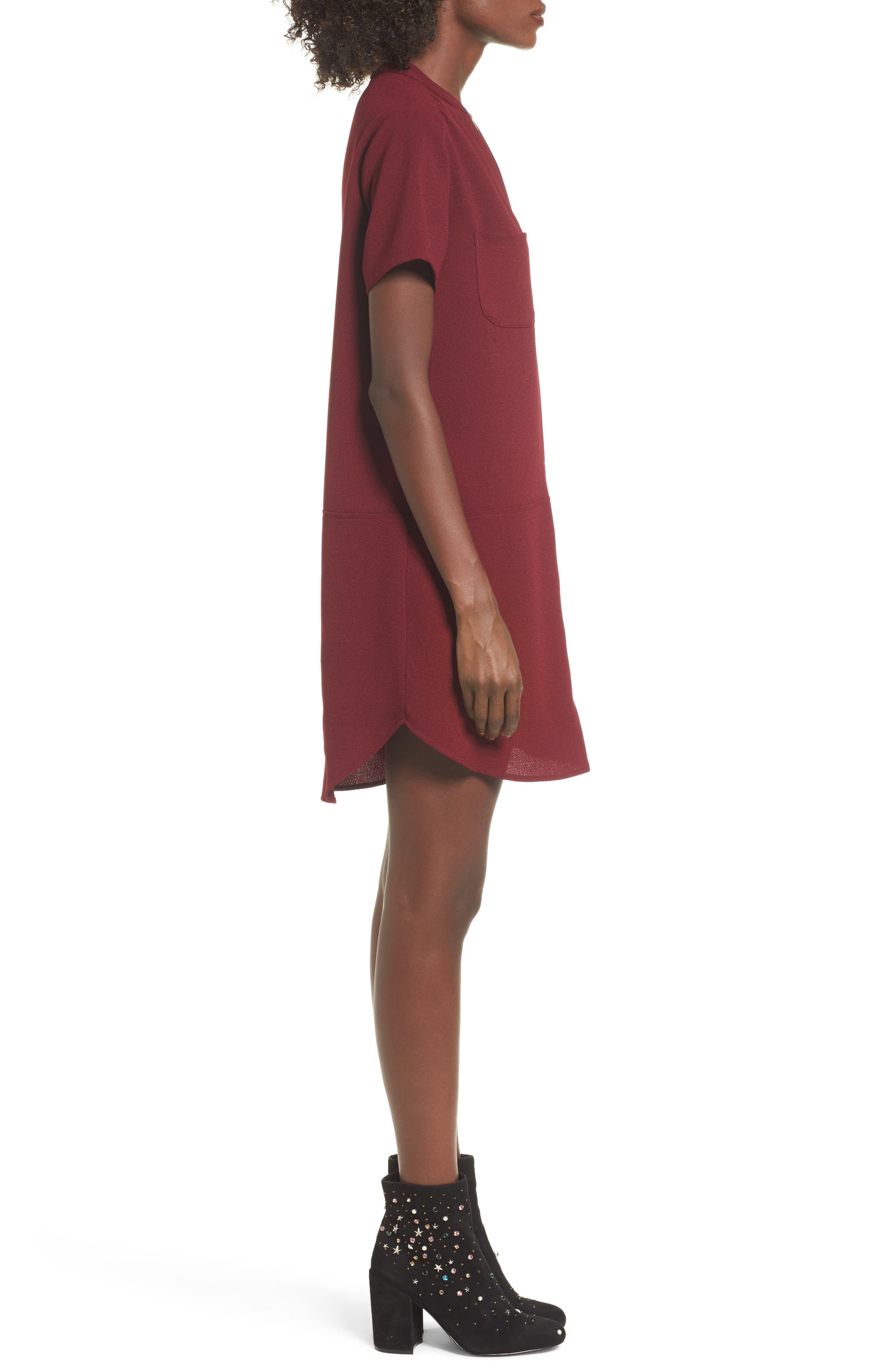 Hailey Crepe Dress,                             Alternate thumbnail 76, color,