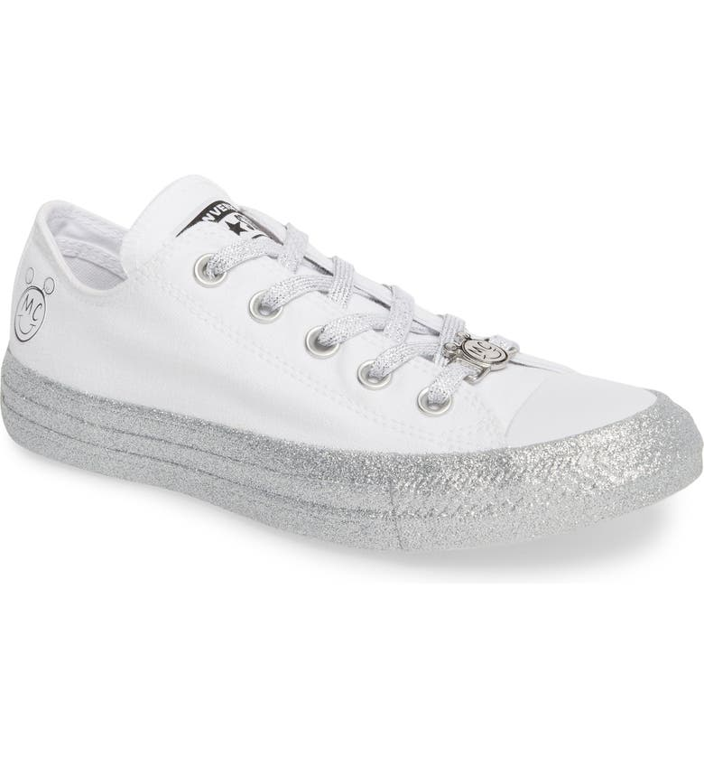 5a7530cad5c0 Converse x Miley Cyrus Chuck Taylor All Star Glitter Low Top Sneaker ...