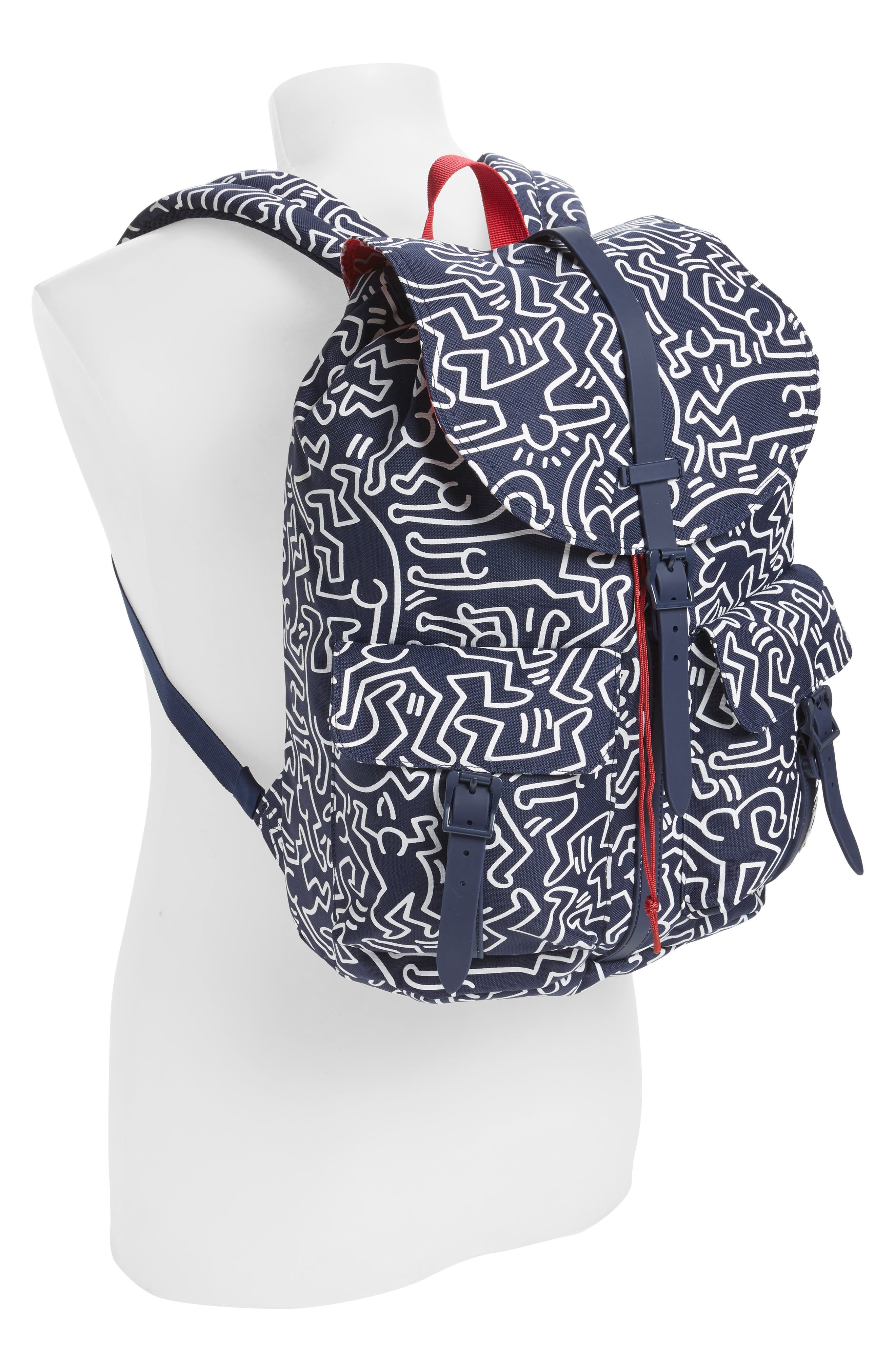 Dawson Keith Haring Backpack,                             Alternate thumbnail 2, color,                             477