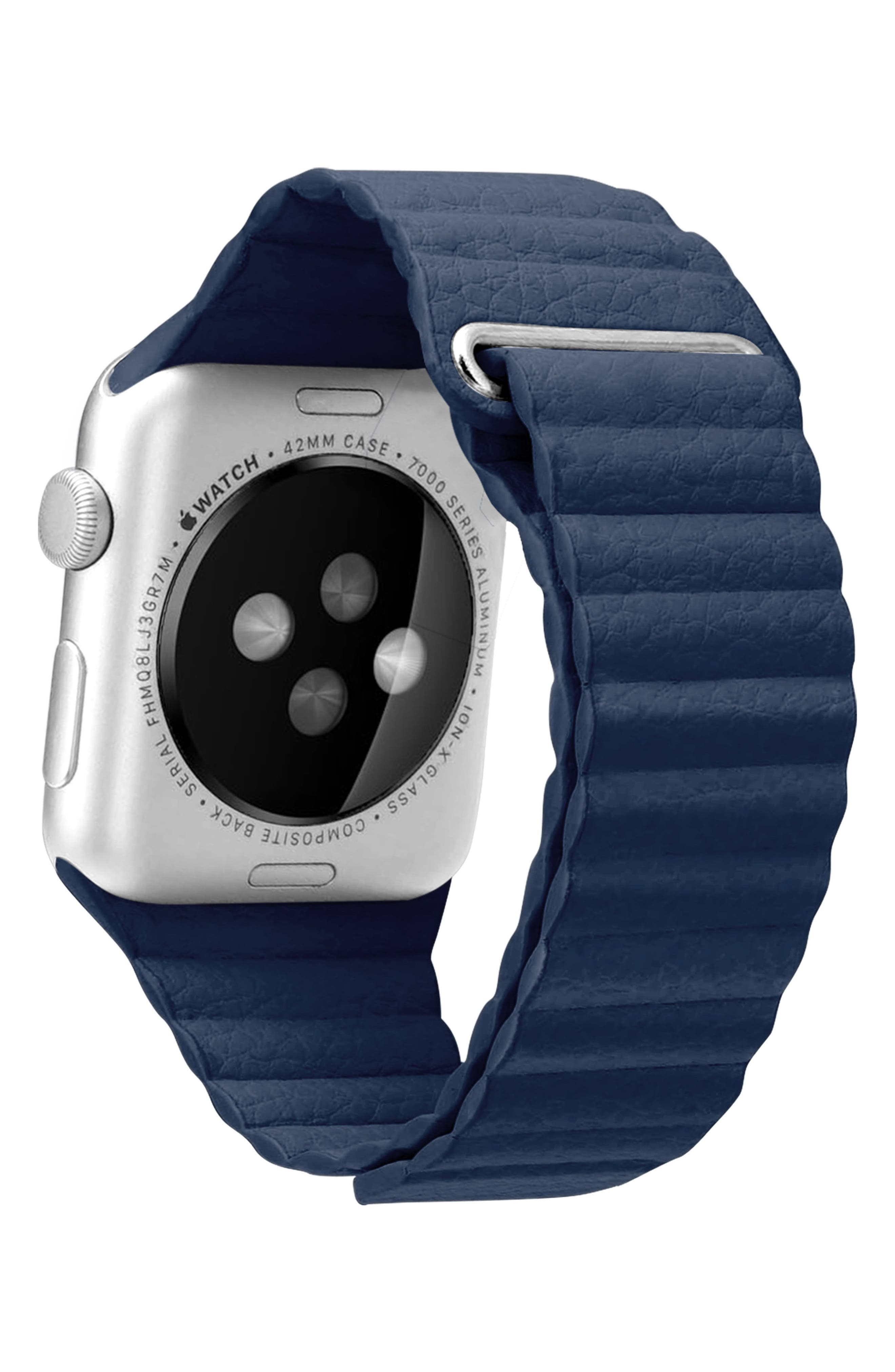 Magnetic Apple Watch Strap, 28mm,                             Alternate thumbnail 11, color,