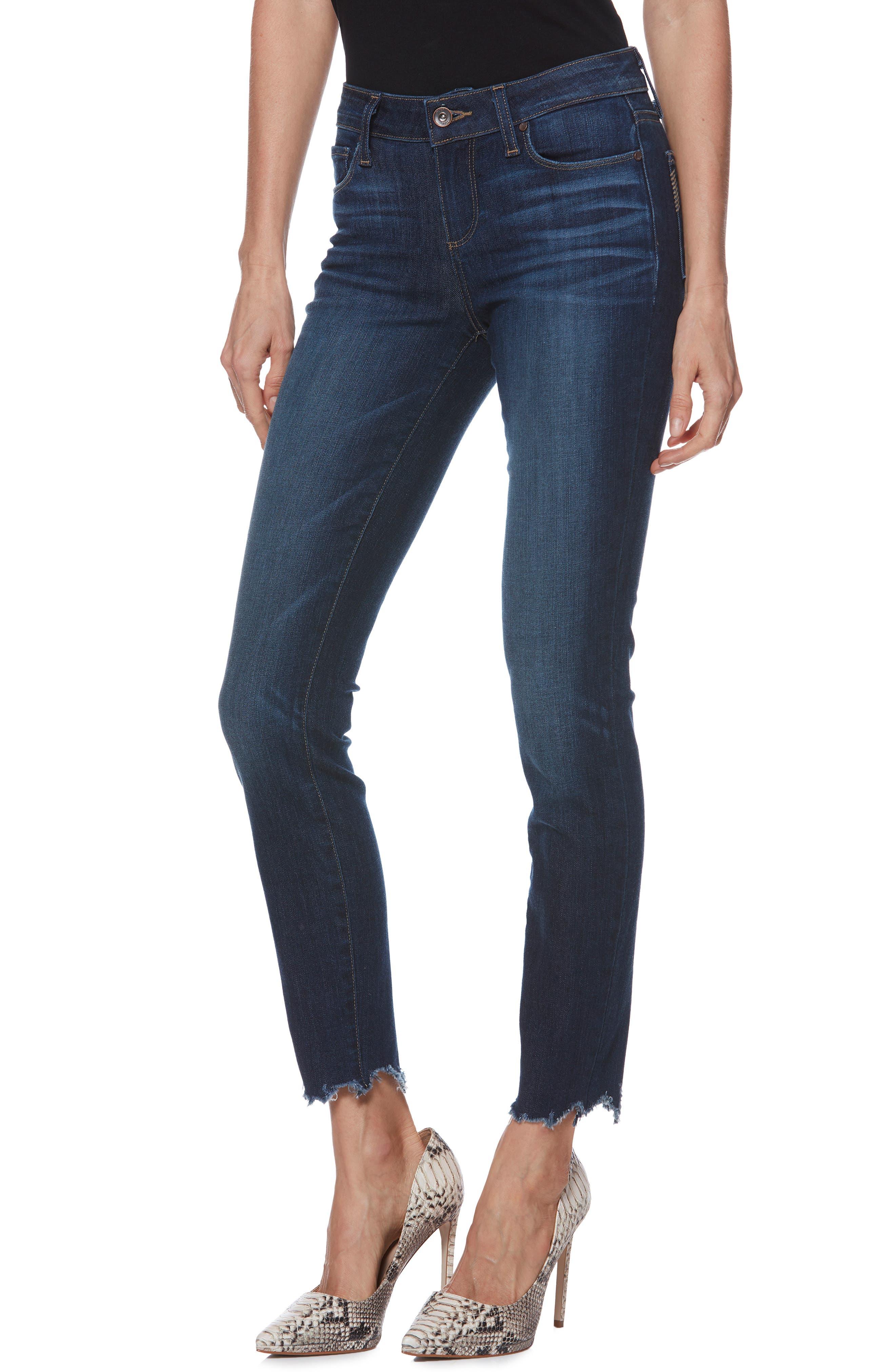 Verdugo Transcend Vintage Ankle Skinny Jeans,                             Main thumbnail 1, color,                             400