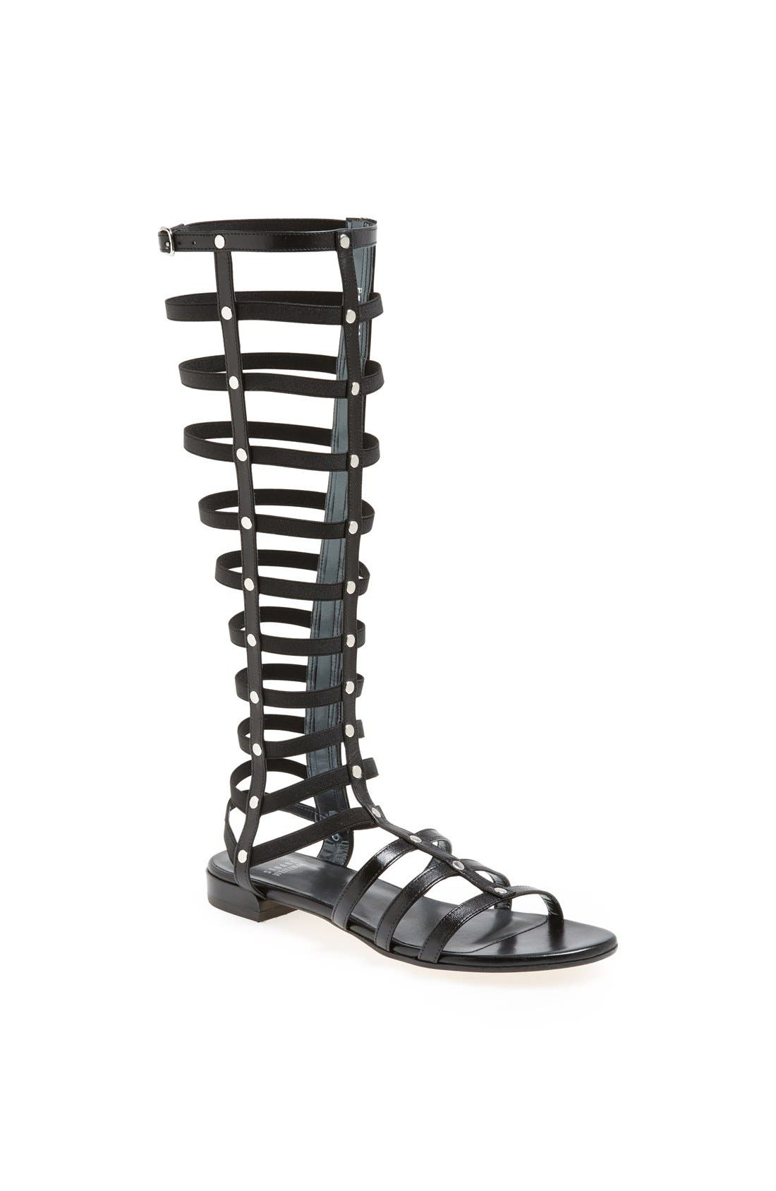 Gladiator Sandal,                             Main thumbnail 1, color,                             001