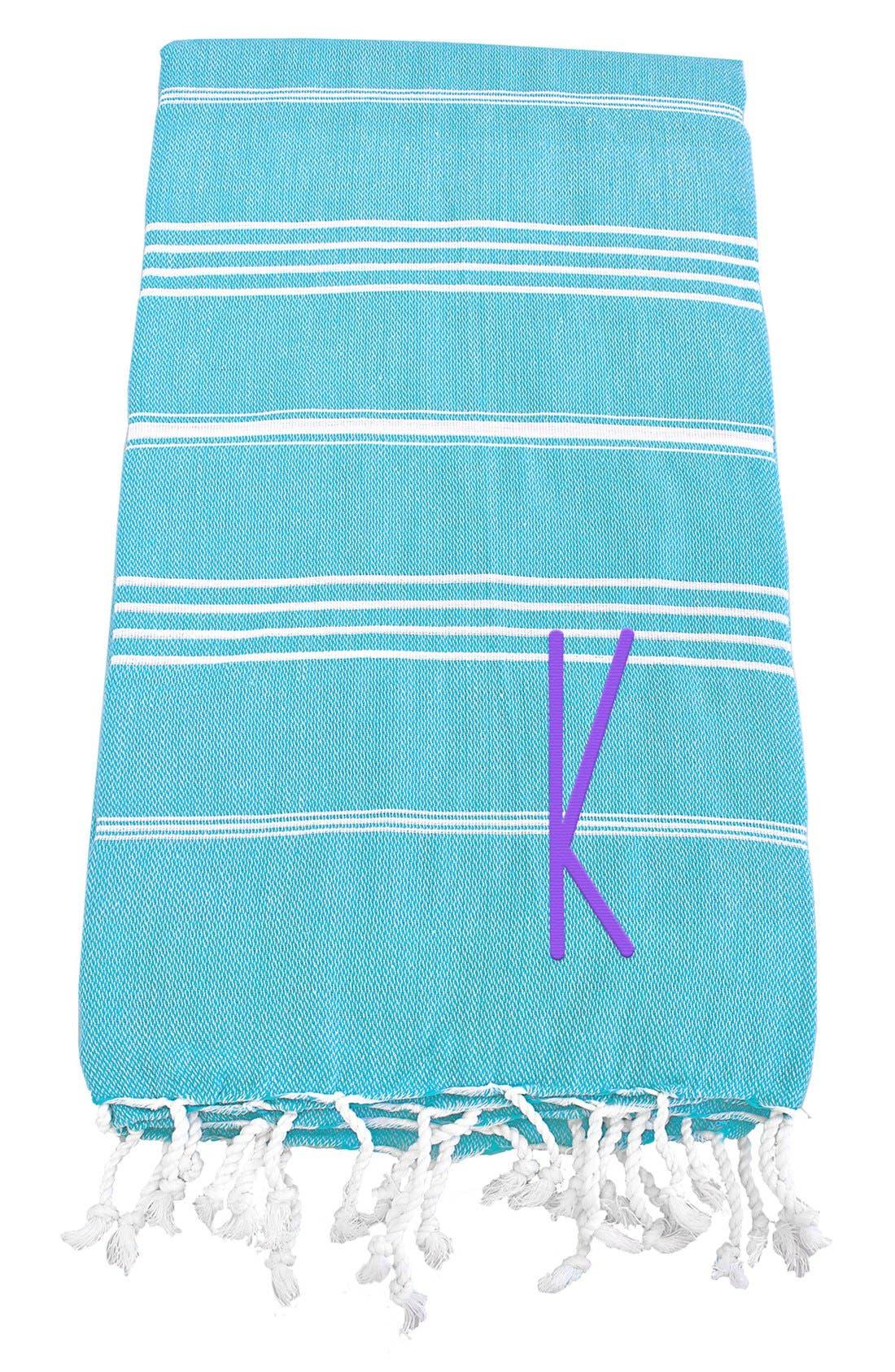 Monogram Turkish Cotton Towel,                             Main thumbnail 94, color,