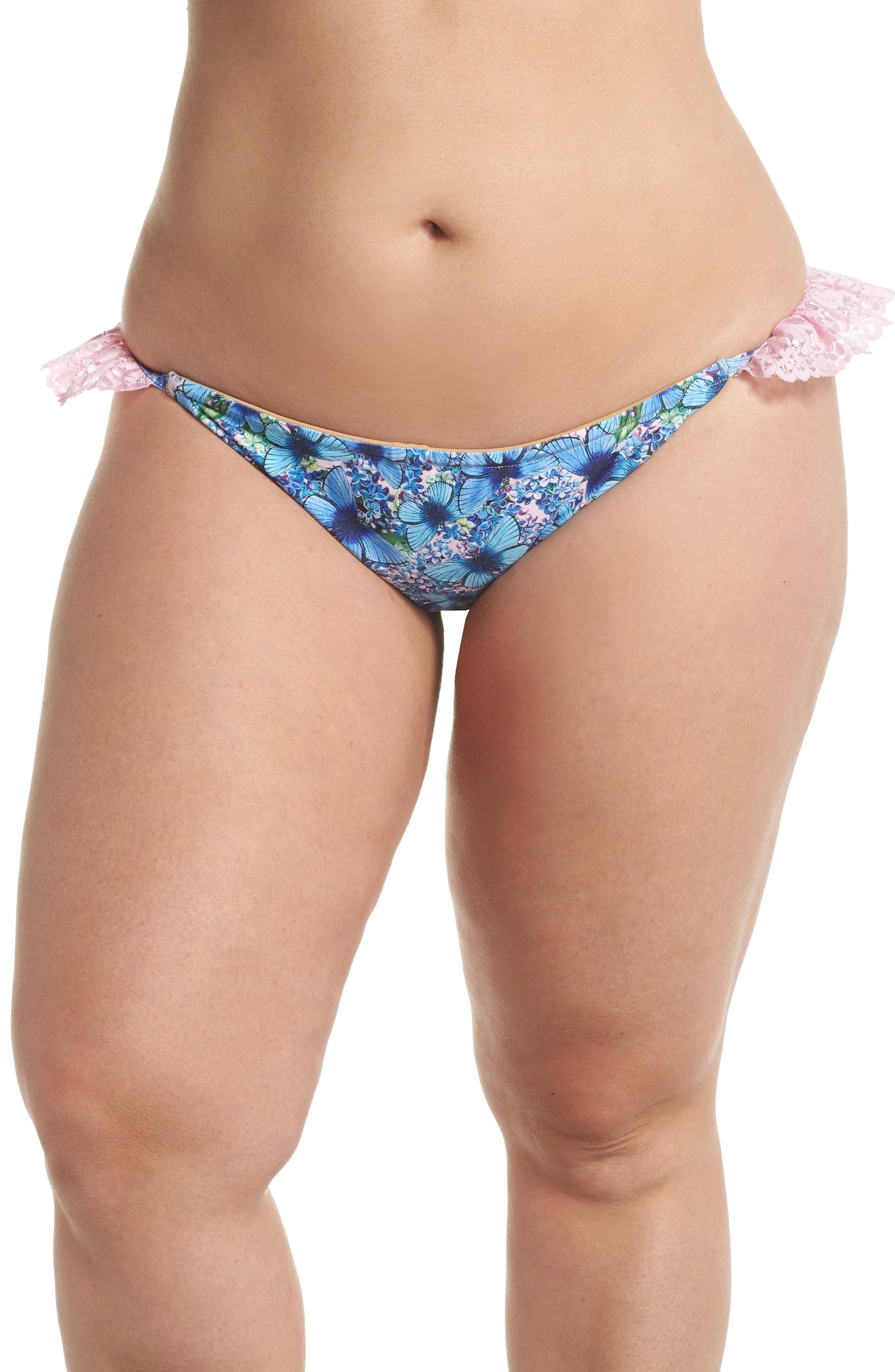 Ruffle Bikini Bottoms,                         Main,                         color, 400