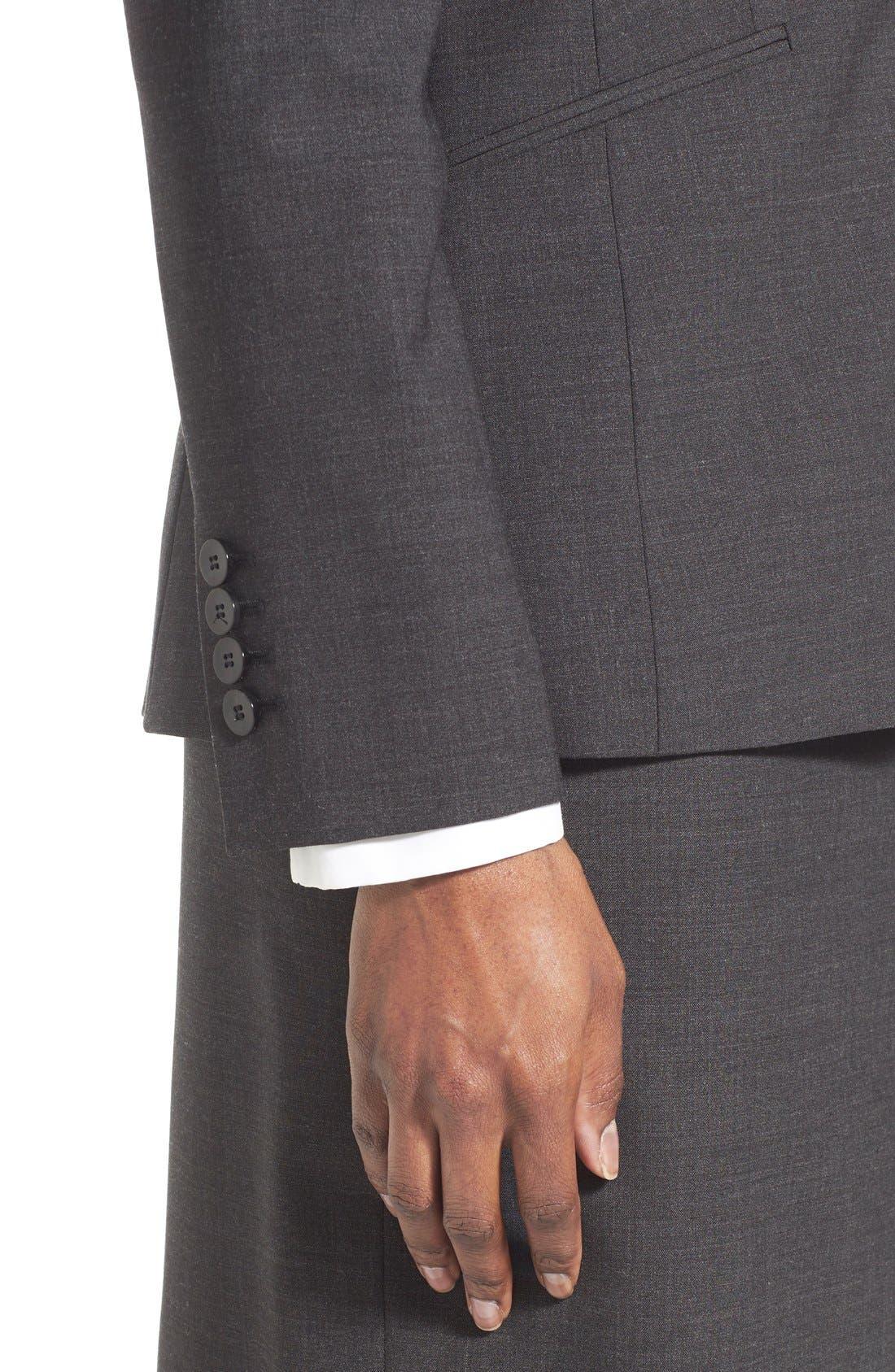 Vilea Tropical Stretch Wool Pencil Skirt,                             Alternate thumbnail 14, color,